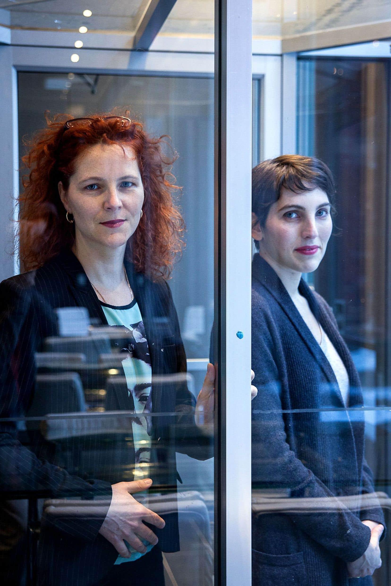 Dominick Parenteau-Lebeuf et Éléonore Goldberg