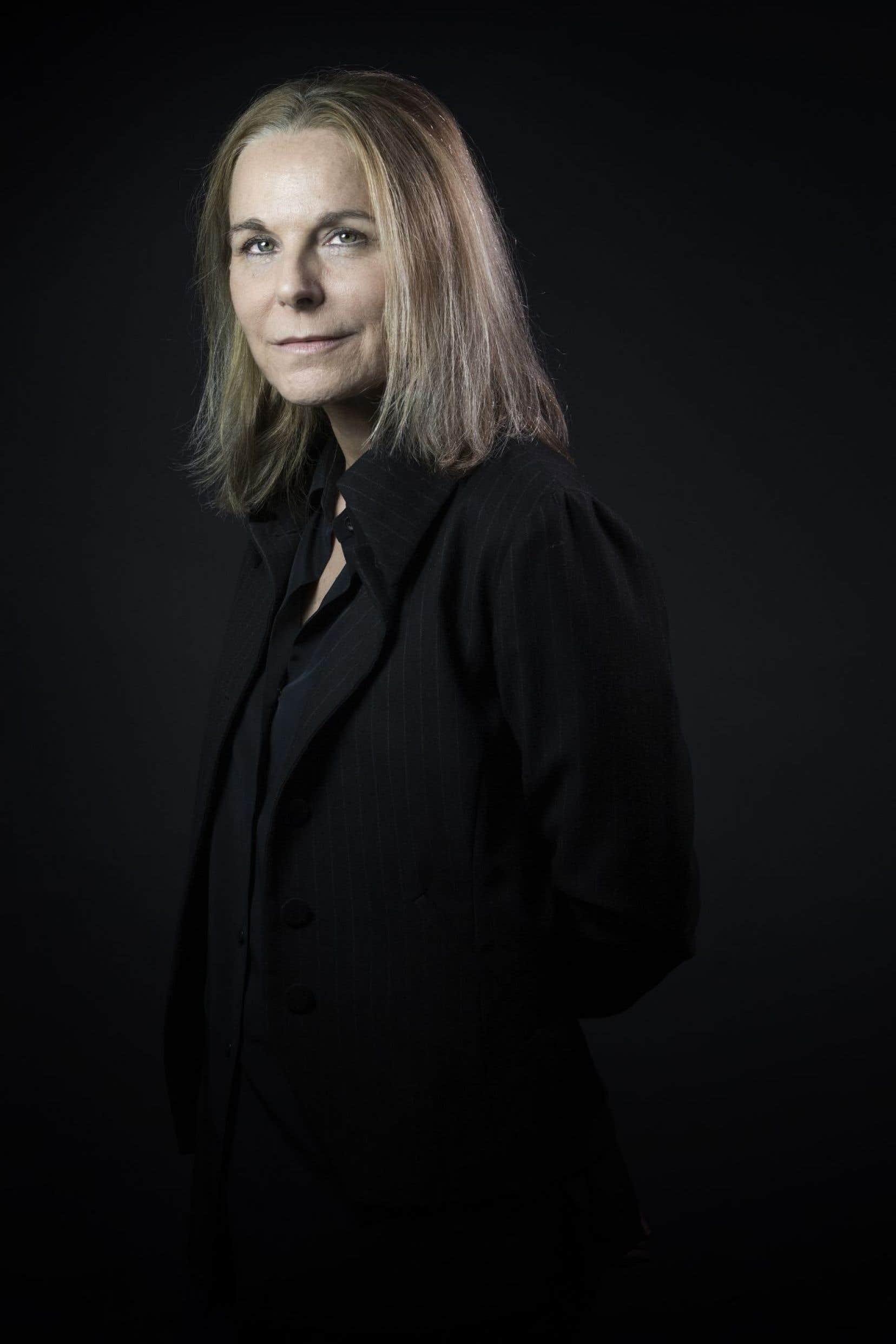 L'écrivaine française Camille Laurens