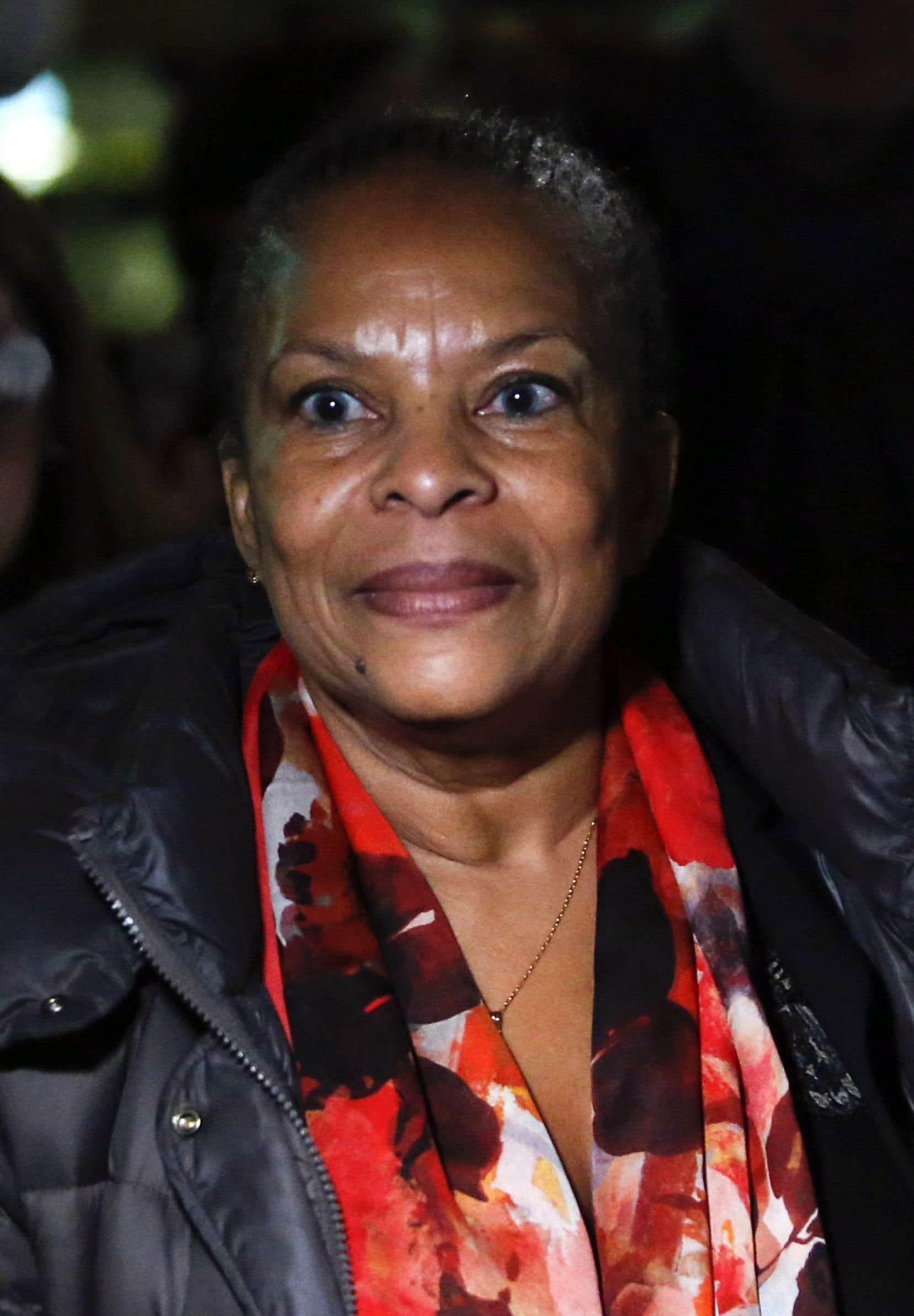 Dans «Murmure à la jeunesse», Christiane Taubira revient sur les attentats du 13novembre, qu'elle décrit comme une «conflagration» reçue «en plein plexus».