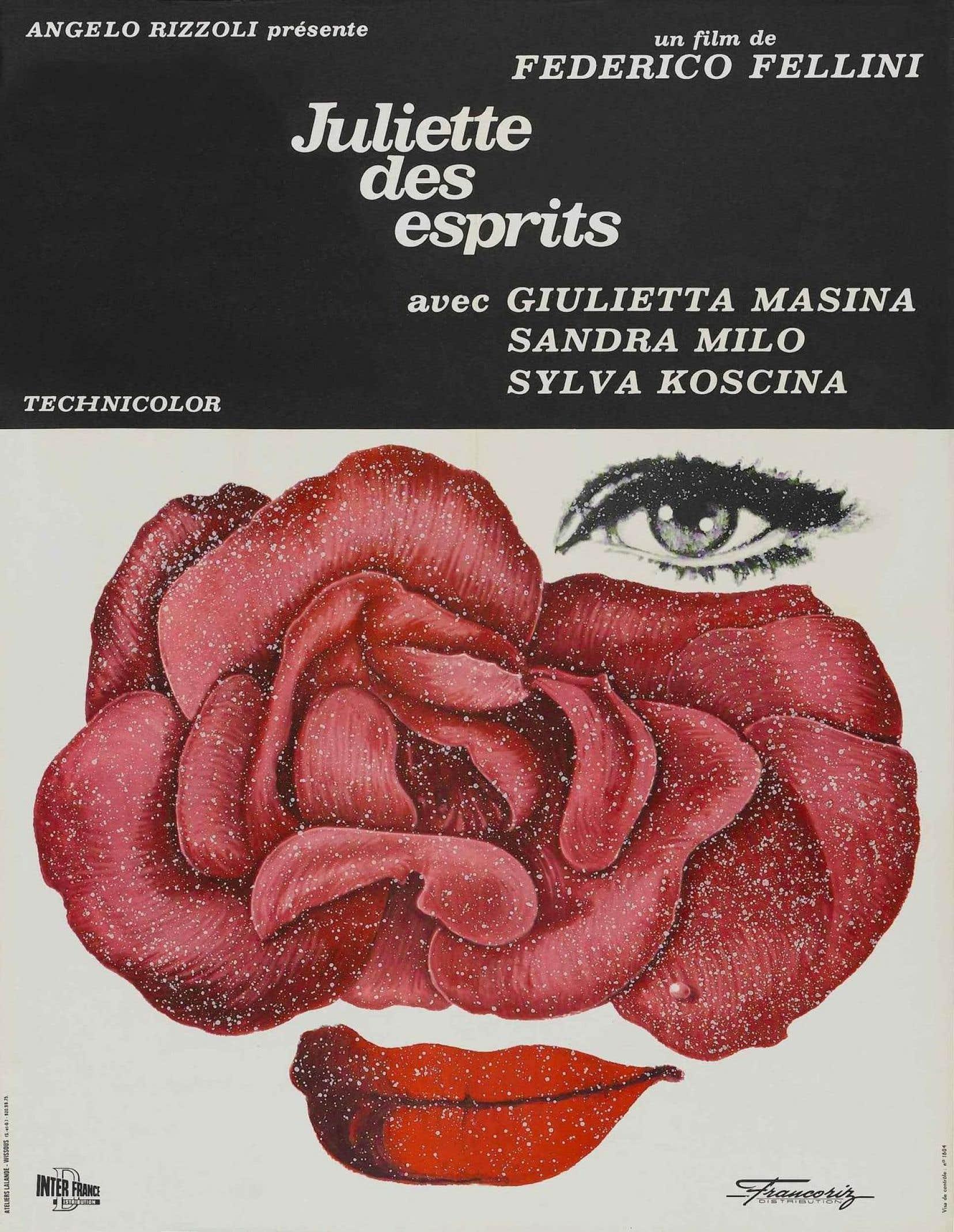 Affiche originale de <em>Juliette des esprits</em>