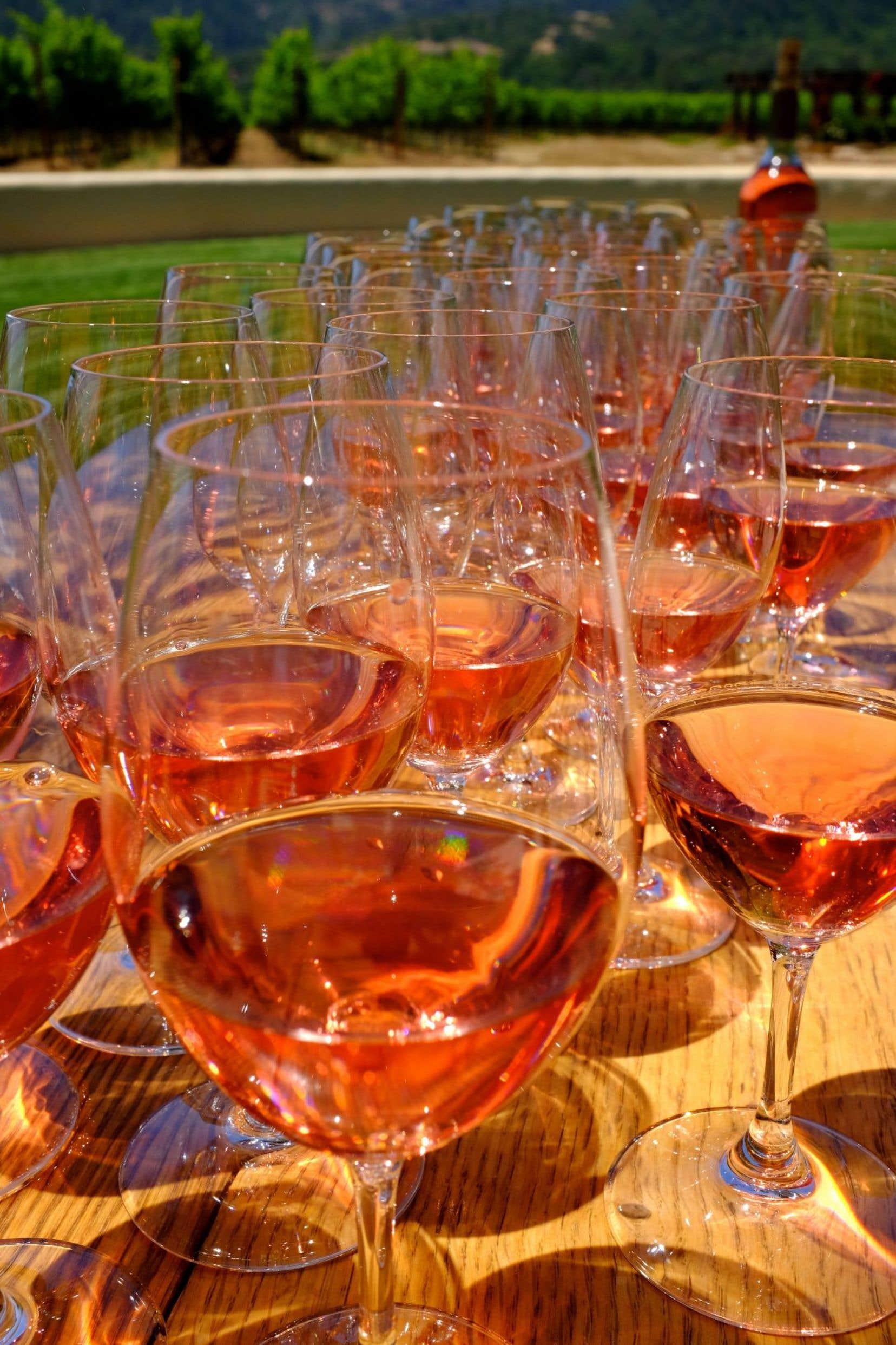 Un nouveau projet de loi à Bruxelles devrait éliminer sous peu la catégorie des vins rosés…