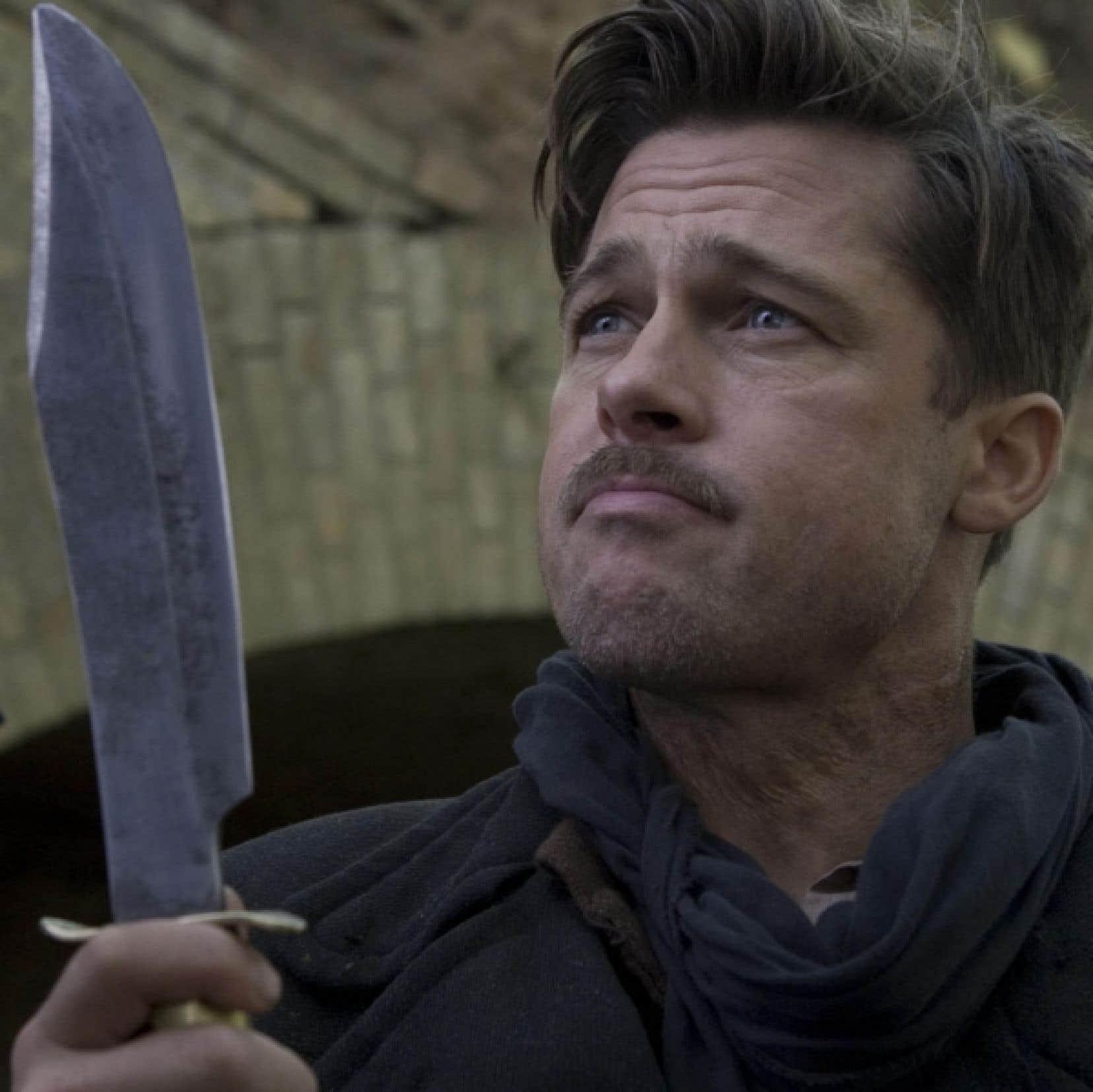 Brad Pitt dans Inglorious Basterds, de Quentin Tarantino