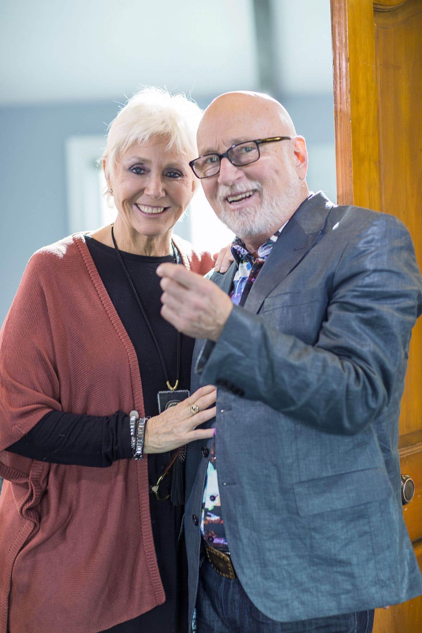 Renée Martel et Patrick Norman sont amis pour la vie, comme dit le titre de l'une des chansons de «Nous», leur tout premier album en duo.