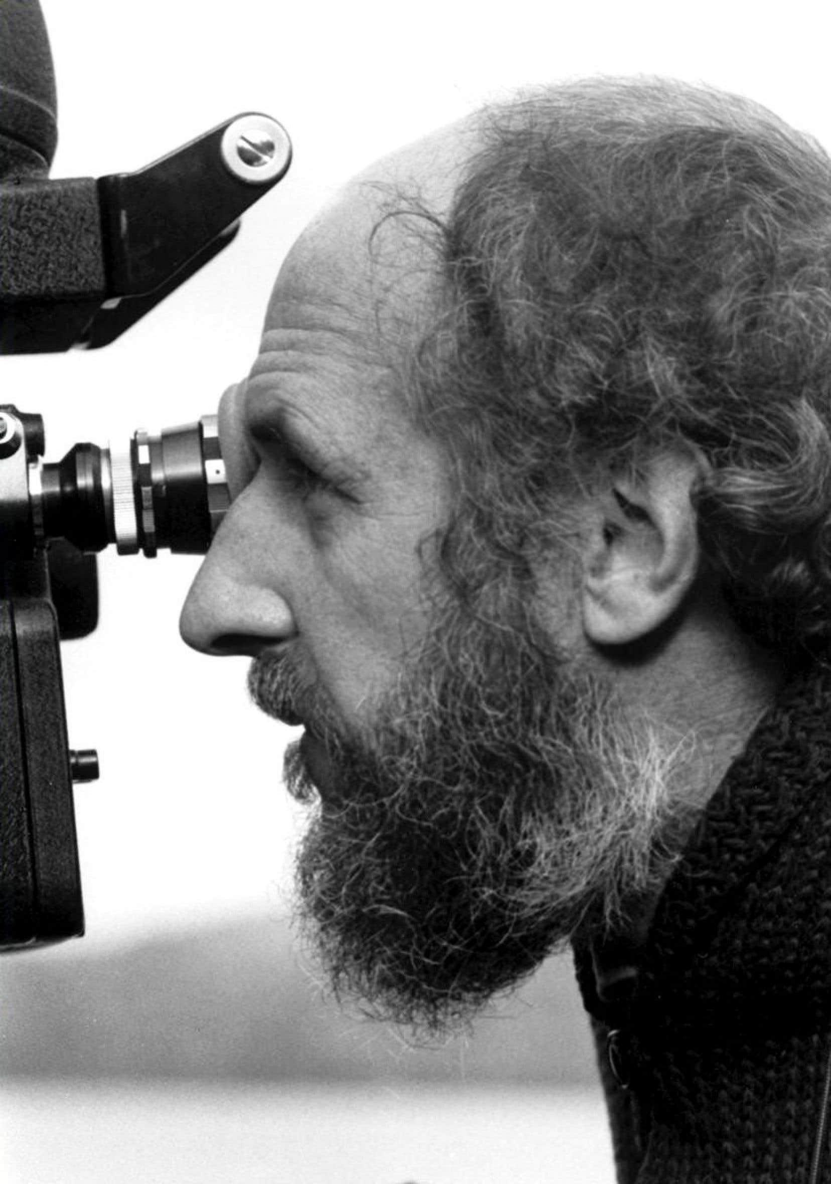 Un portrait de Michel Brault tiré du documentaire «Cinéma vérité: le moment décisif», de Peter Wintonick