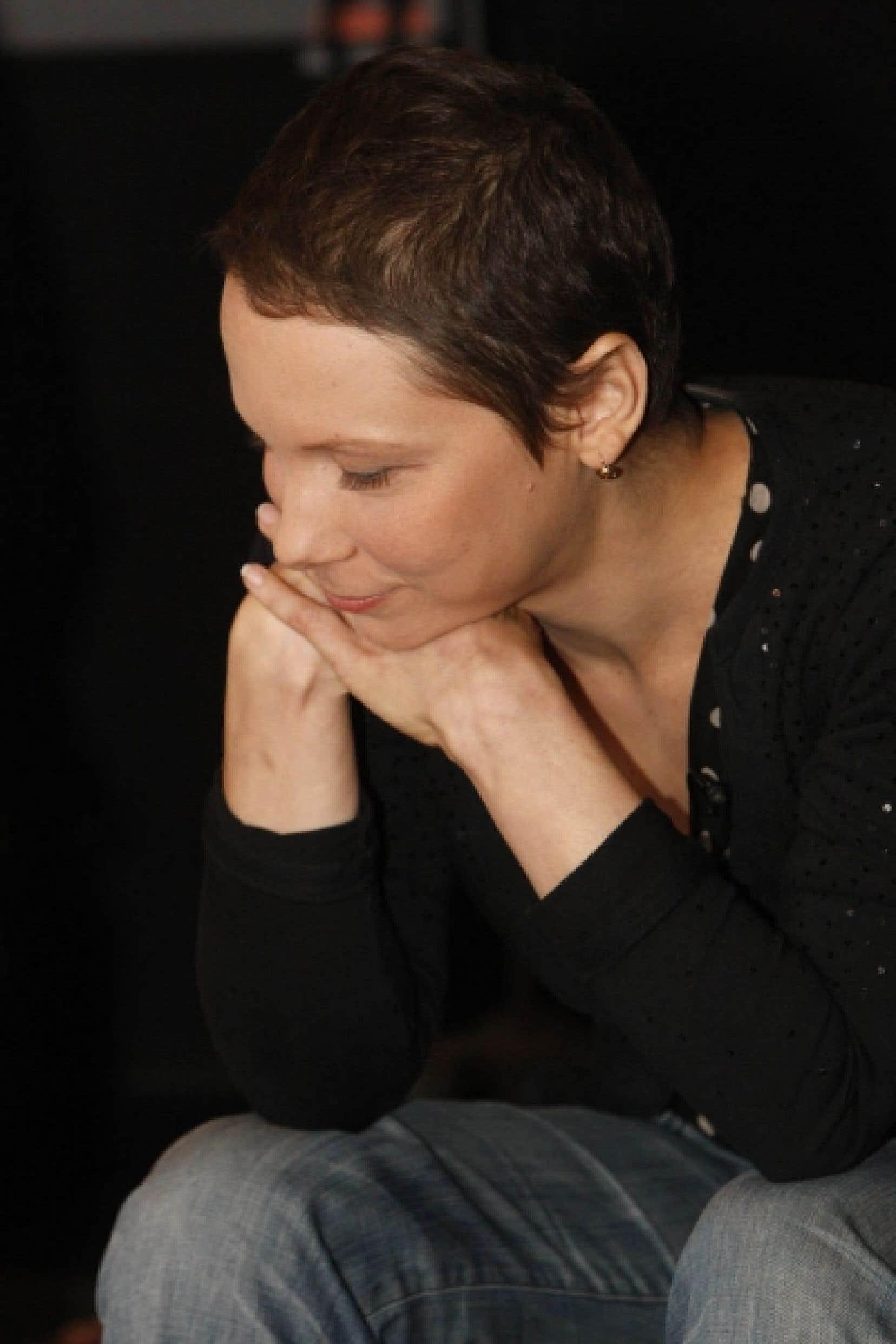 La chanteuse lors du lancement de son plus récent album, Lhasa, en mars 2009.