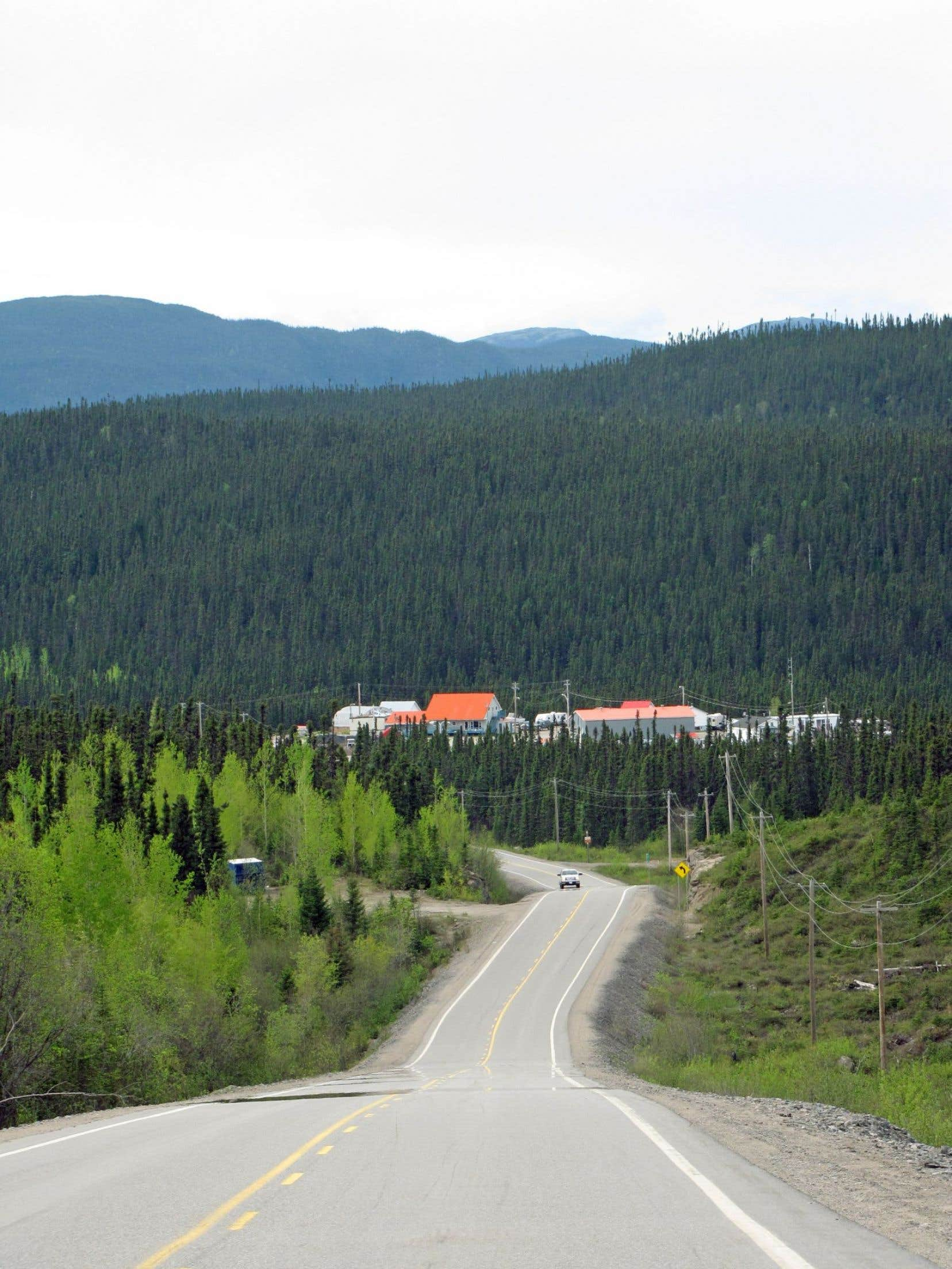 Le Relais Gabriel du kilomètre 316, une sorte d'oasis avec son restaurant et ses six motels