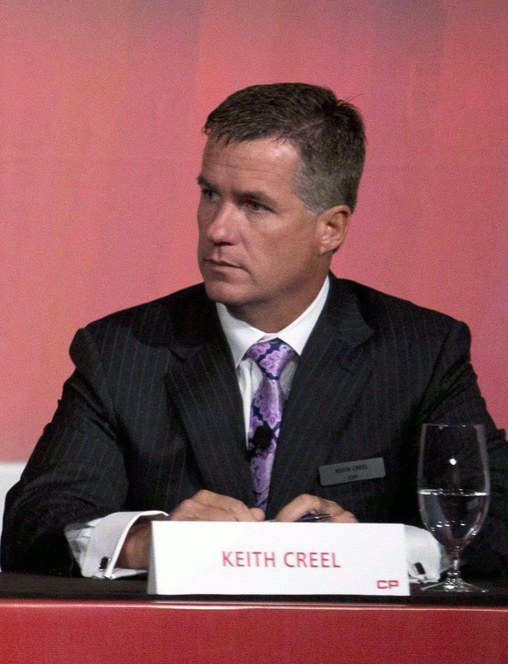 Keith Creel succédera à Hunter Harrison à la direction du CP.