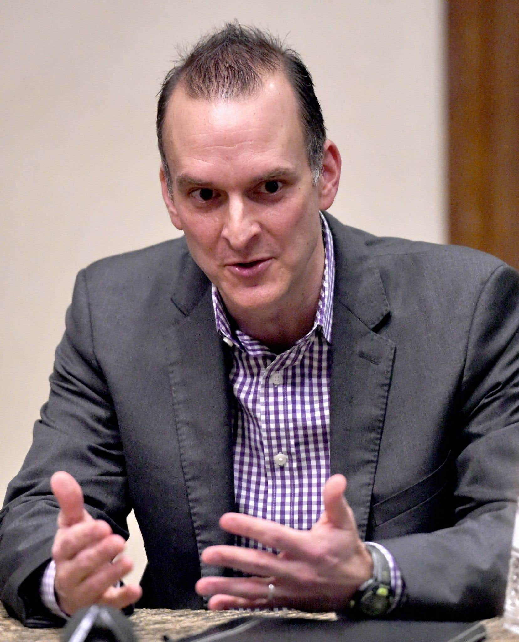 Travis Tygart, le directeur de L'Agence américaine de lutte contre le dopage (USADA)