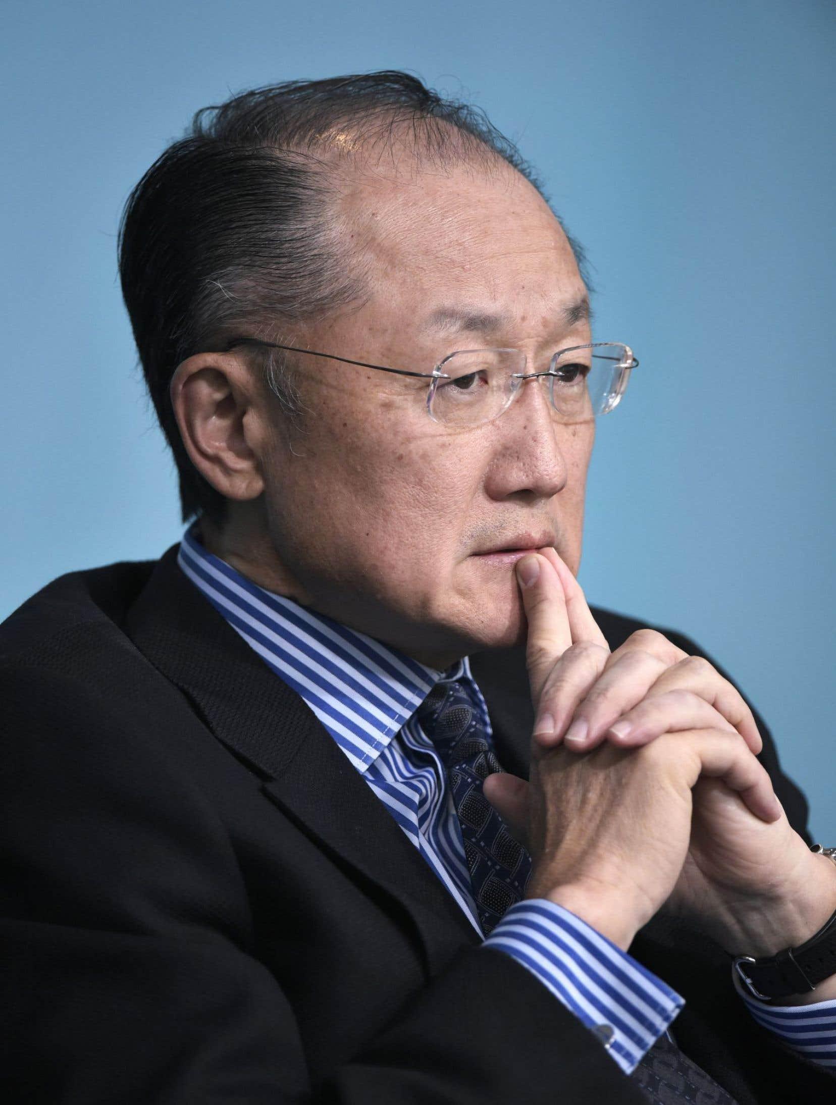 Le président de la Banque mondiale, Jim Yong Kim, voit son mandat de cinq ans s'achever en juillet prochain.
