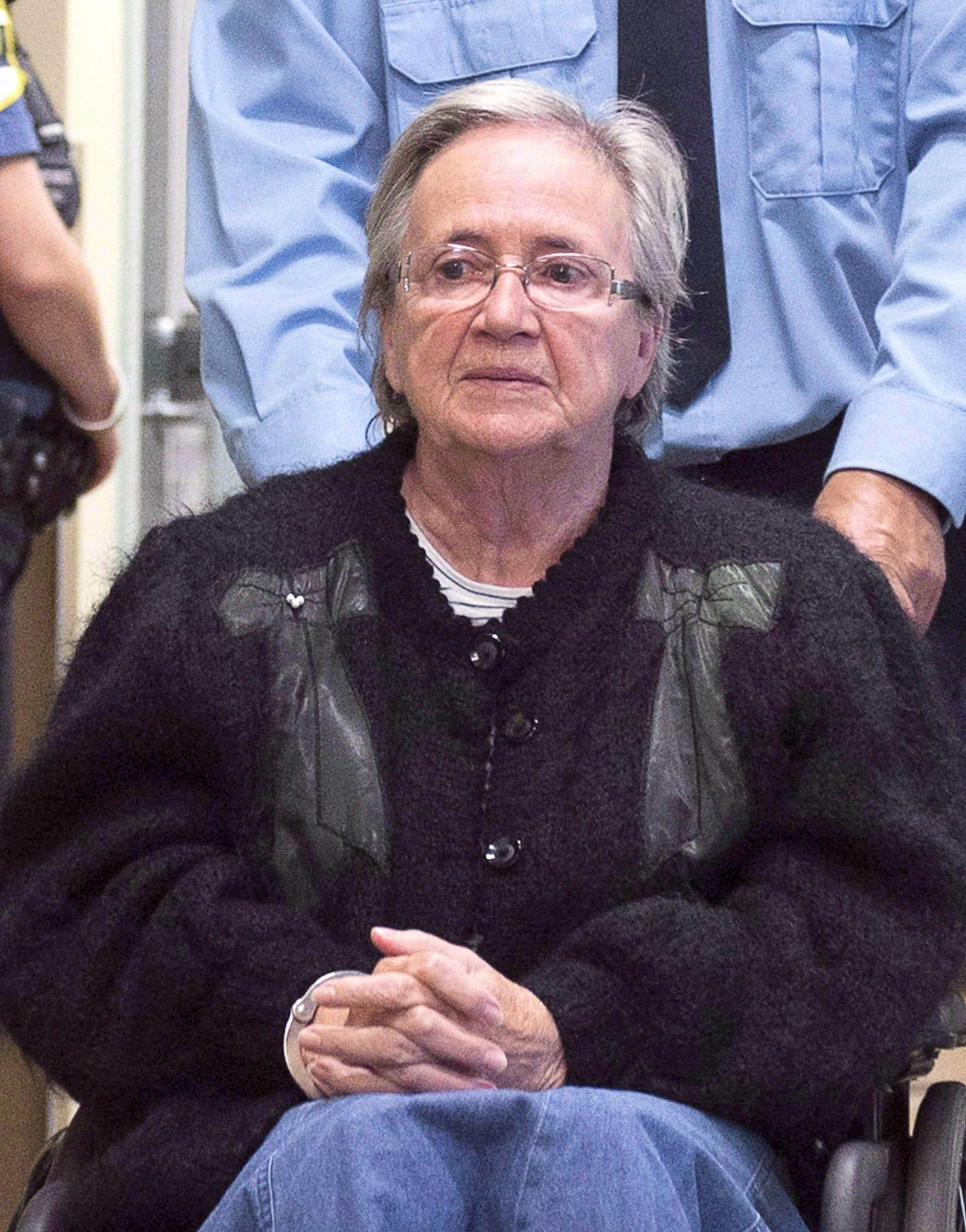 Lise Thibault purgeait sa peine de prison de 18 mois depuis le 25février.<br />