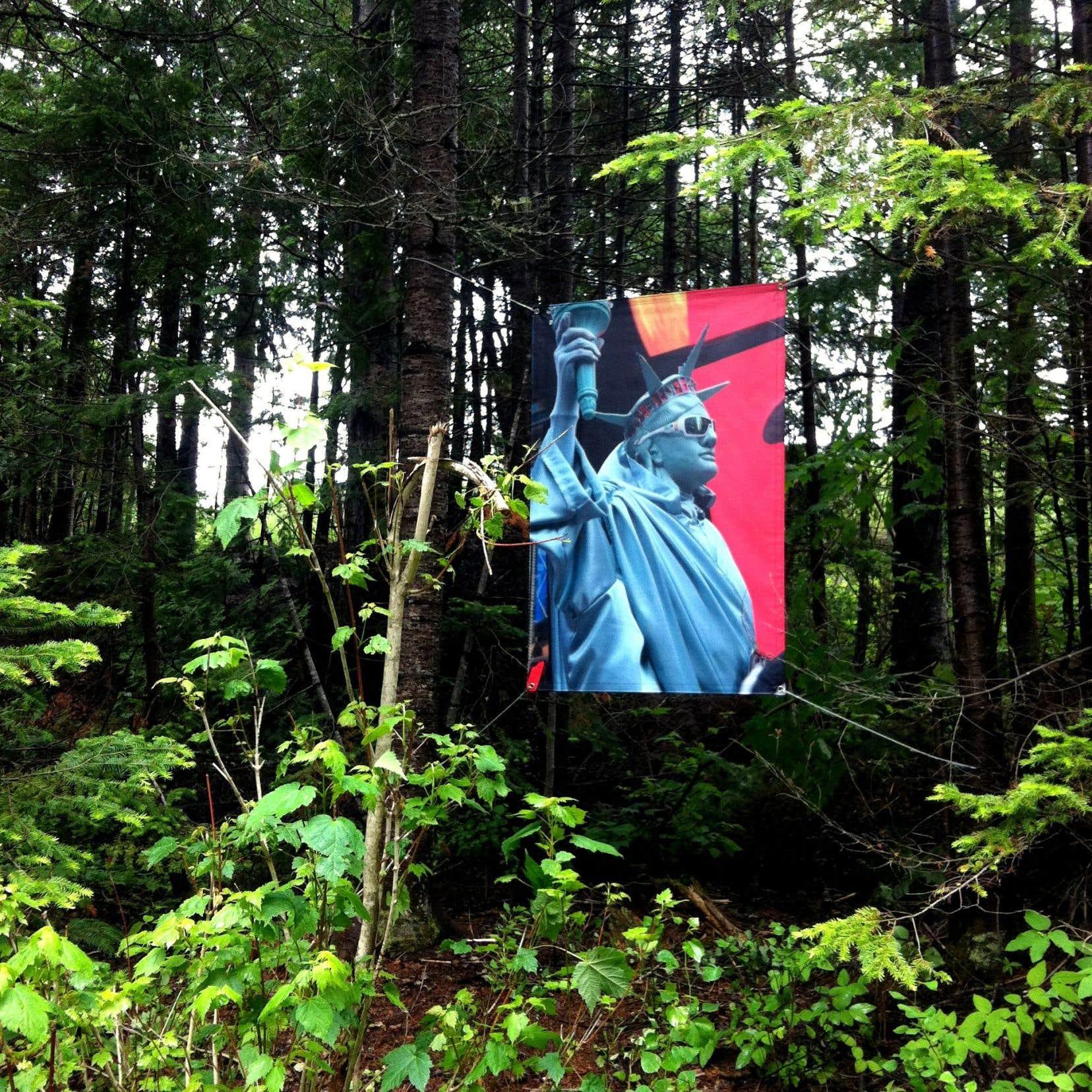 Robert Walker, extrait de la série «Times Square Gothic / Times Square Gothique», parc de la Gaspésie
