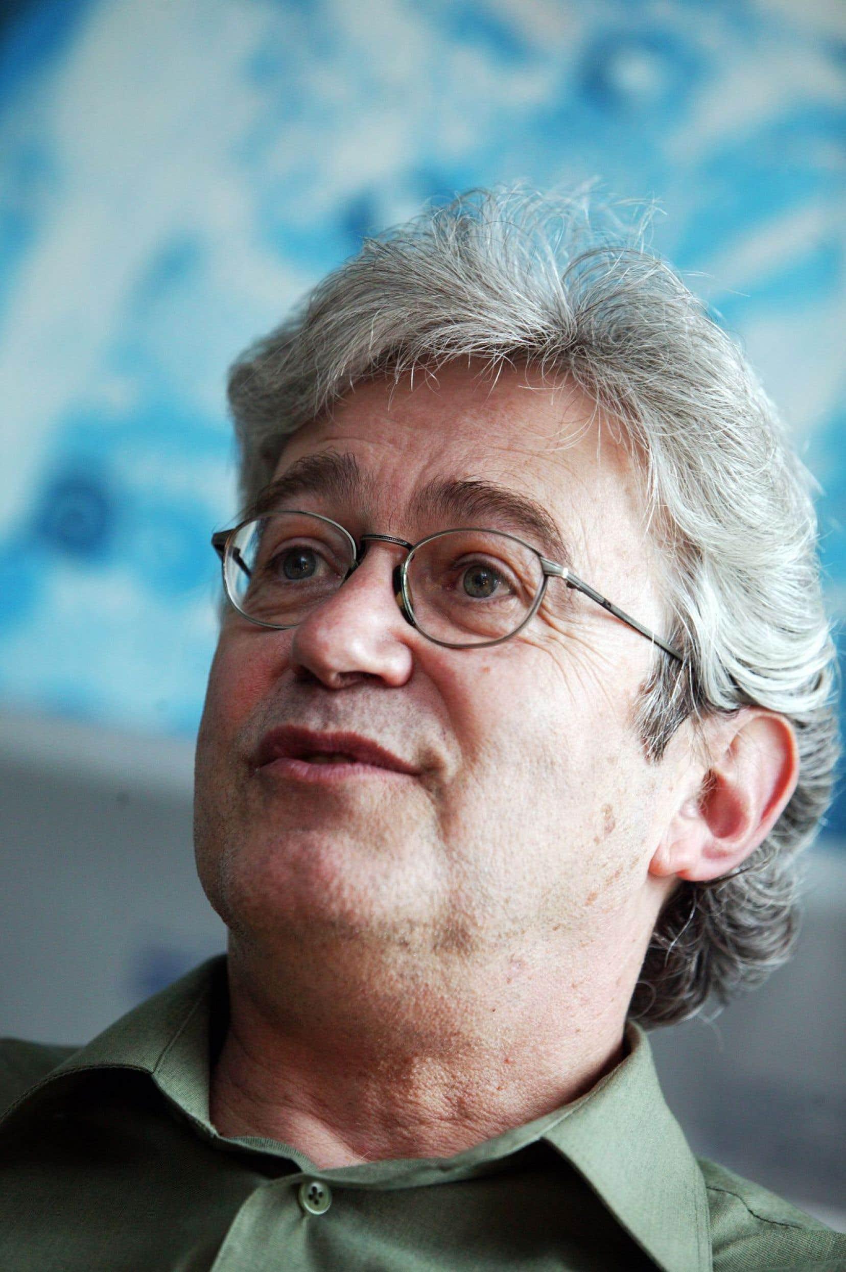 Le poète et biographe de Gaston Miron, Pierre Nepveu