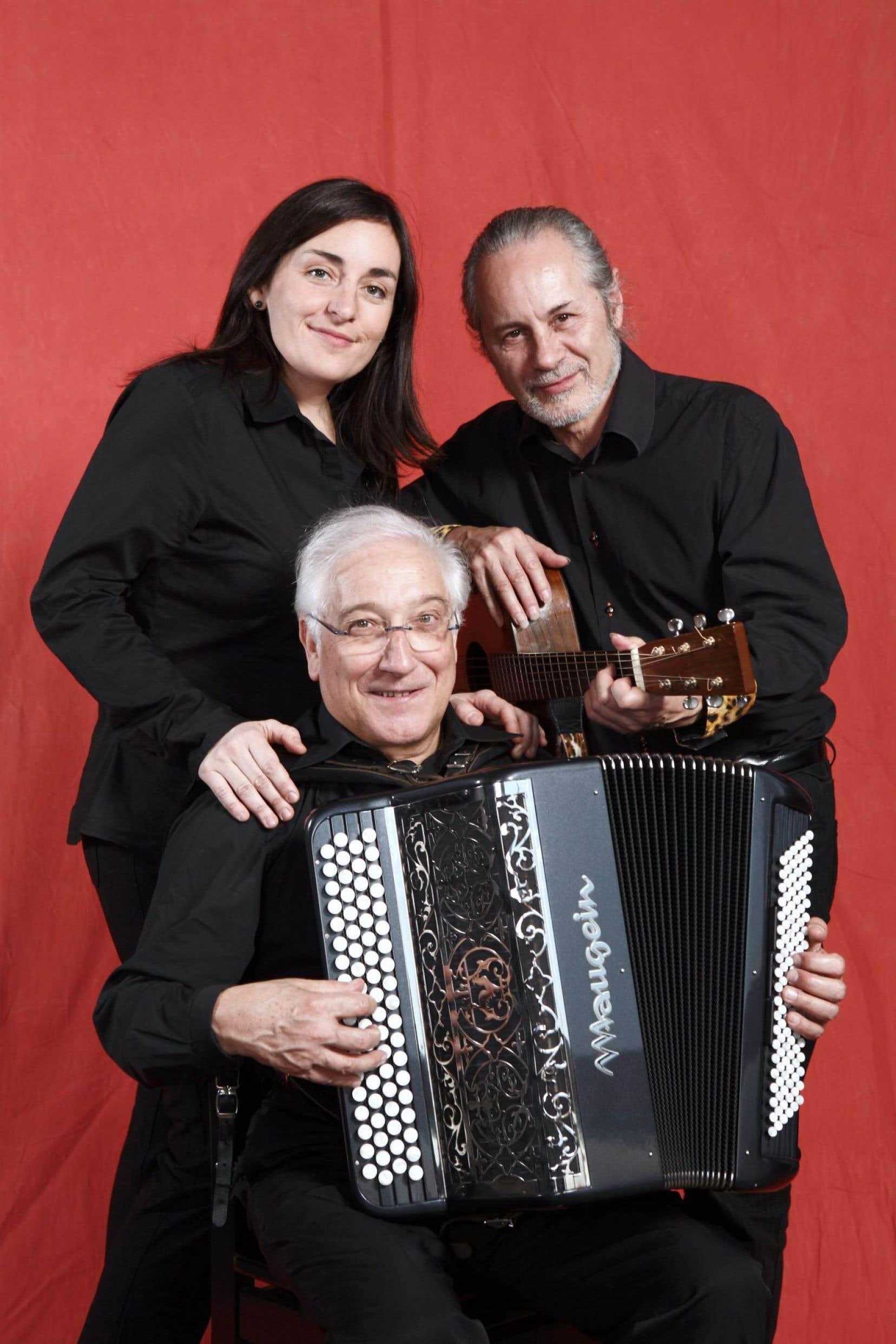Daniel Colin, Claire Elzière et Dominique Cravic, trois des nombreux musiciens invités par le festival