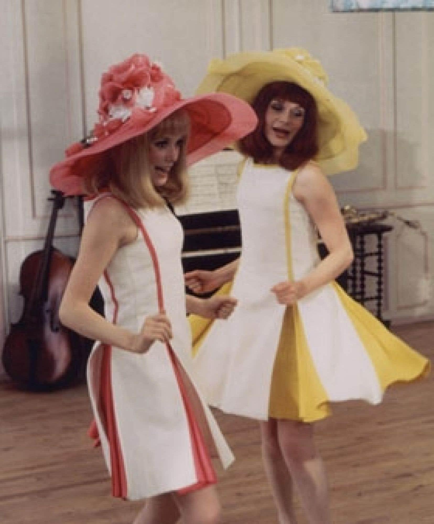 Qualifié par Demy d'«opérette sentimentale», Les Demoiselles de Rochefort (1967) mettait en vedette Catherine Deneuve et sa soeur Françoise Dorléac.