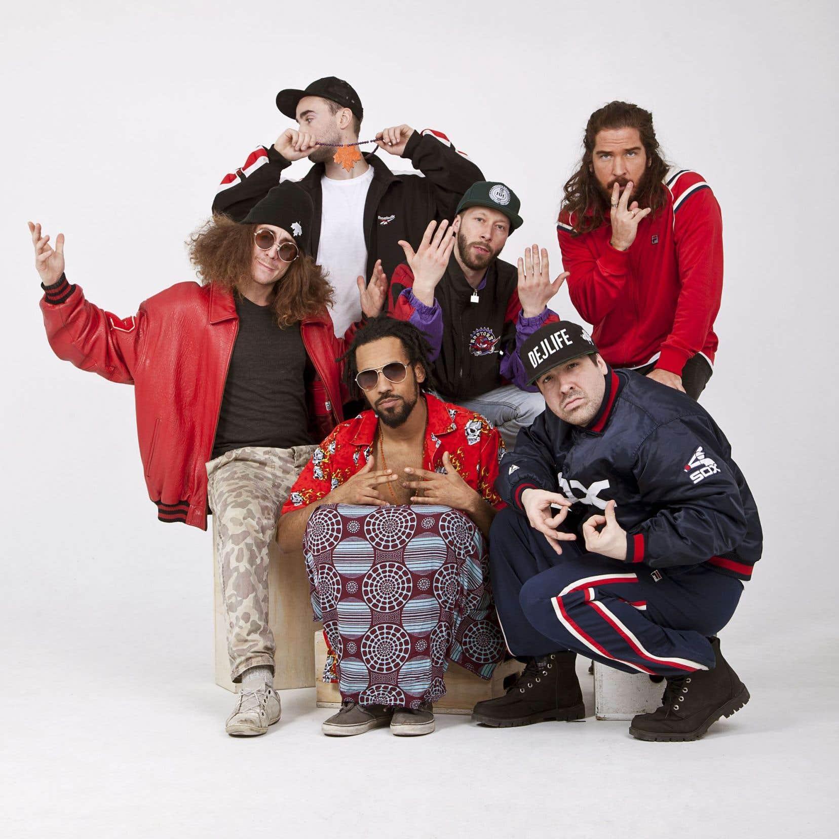 Alaclair Ensemble explore autant le rap que la chanson, le funk, la musique électronique et le soul.