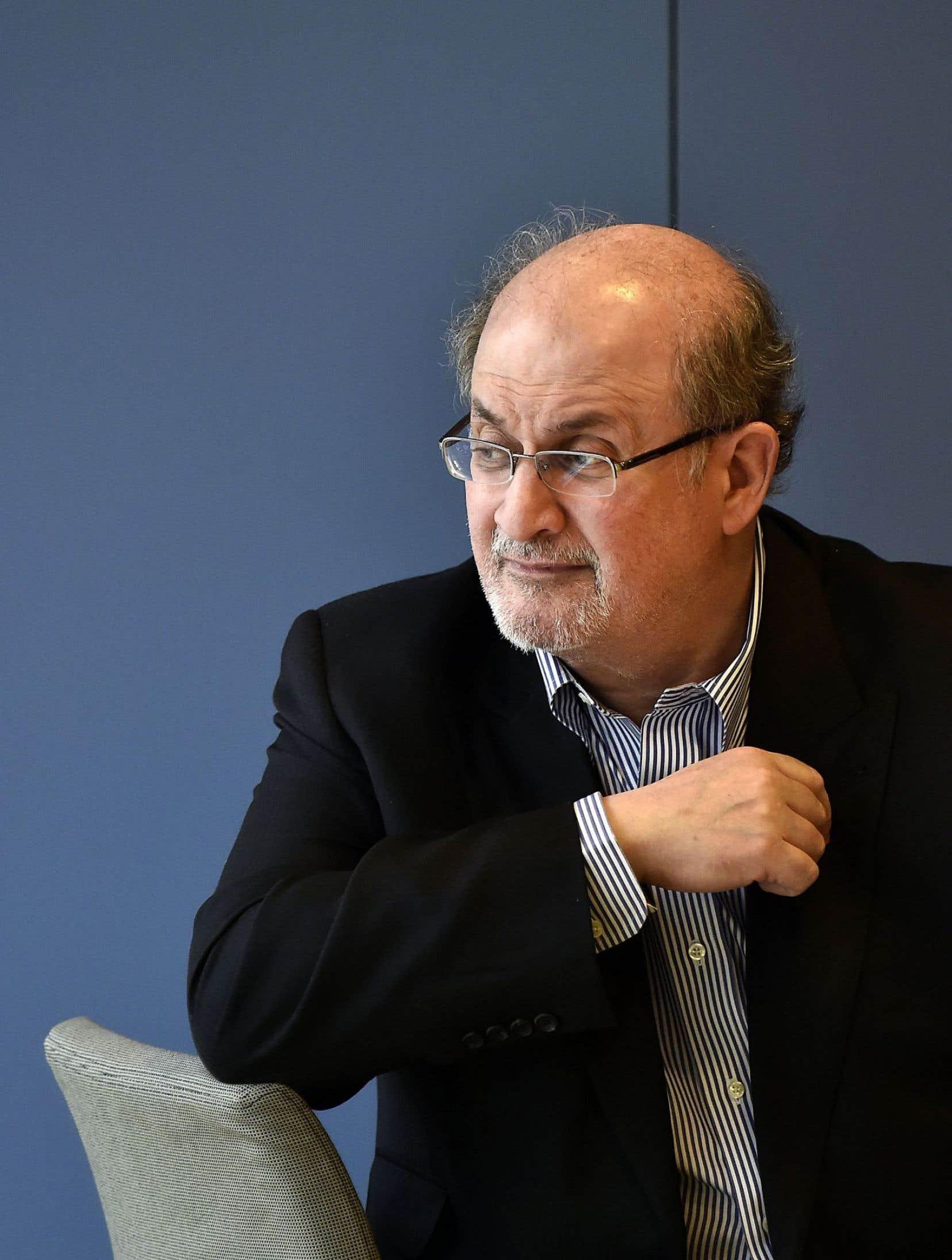 L'écrivain britannique d'origine indienne Salman Rushdie