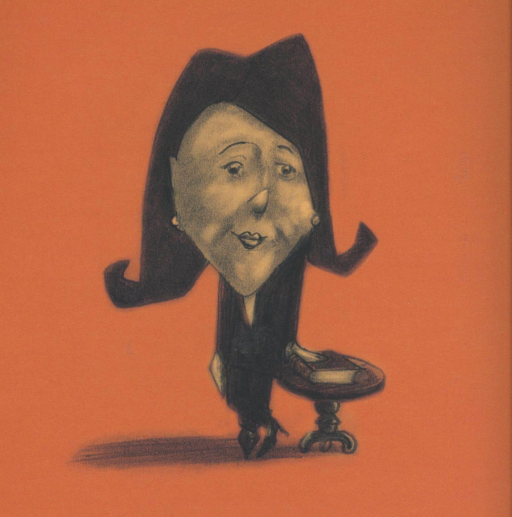 La ministre de la Culture illustrée sur la couverture du livre
