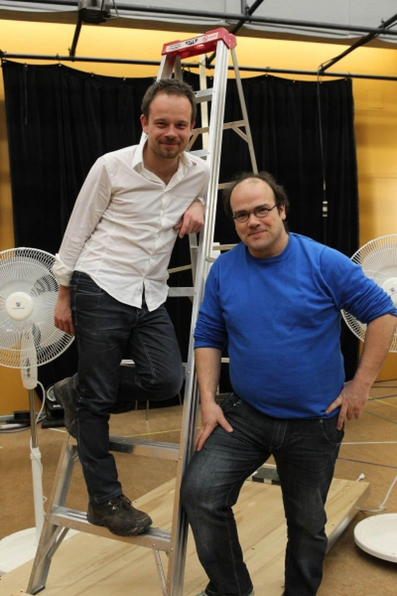 Geoffrey Gaquère et Mathieu Gosselin