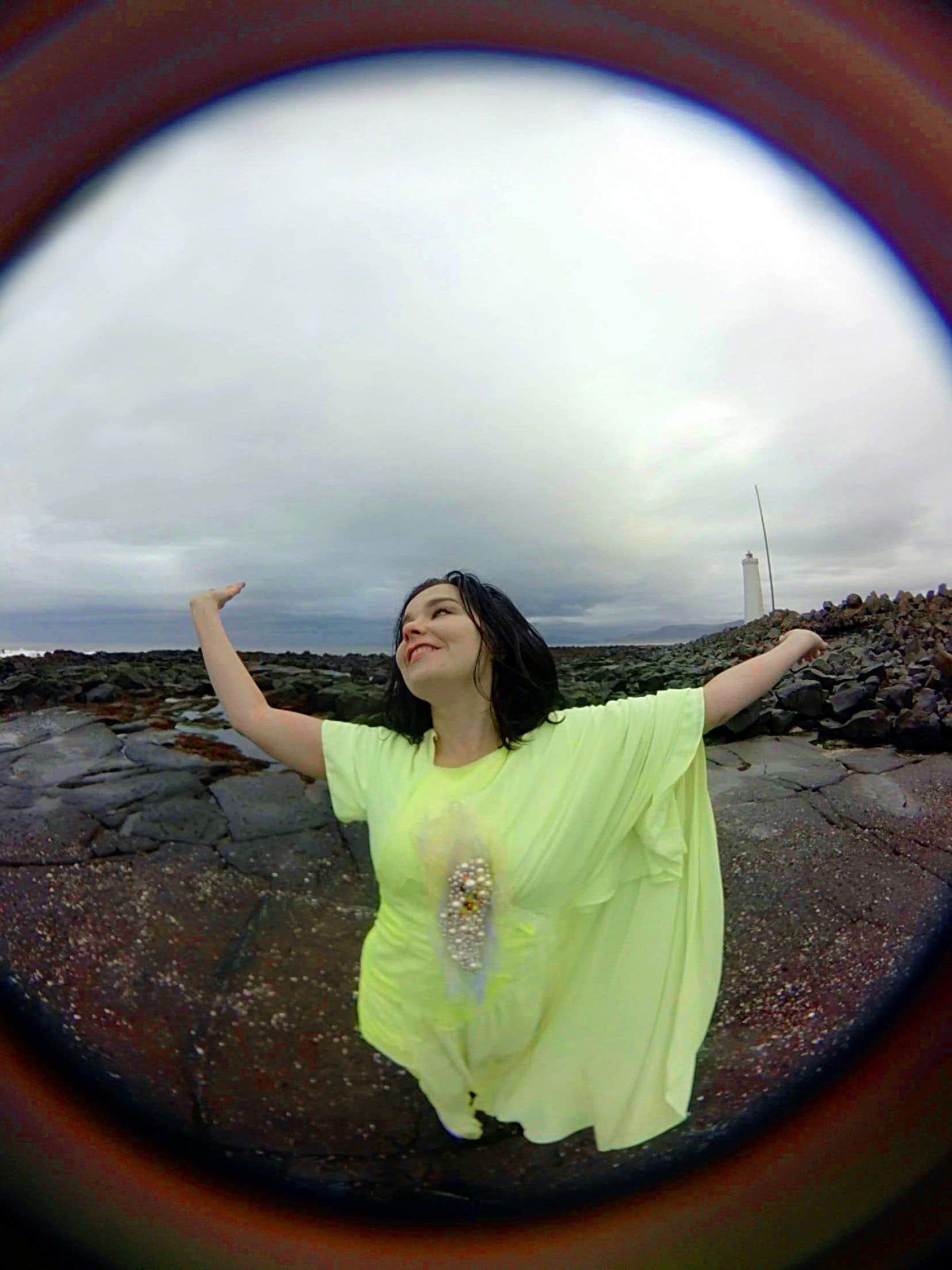Difficile de ne pas associer Björk à un nébuleux pouvoir au féminin, émergeant des cavernes de l'origine du monde, façon Islande et façon tableau de Courbet.