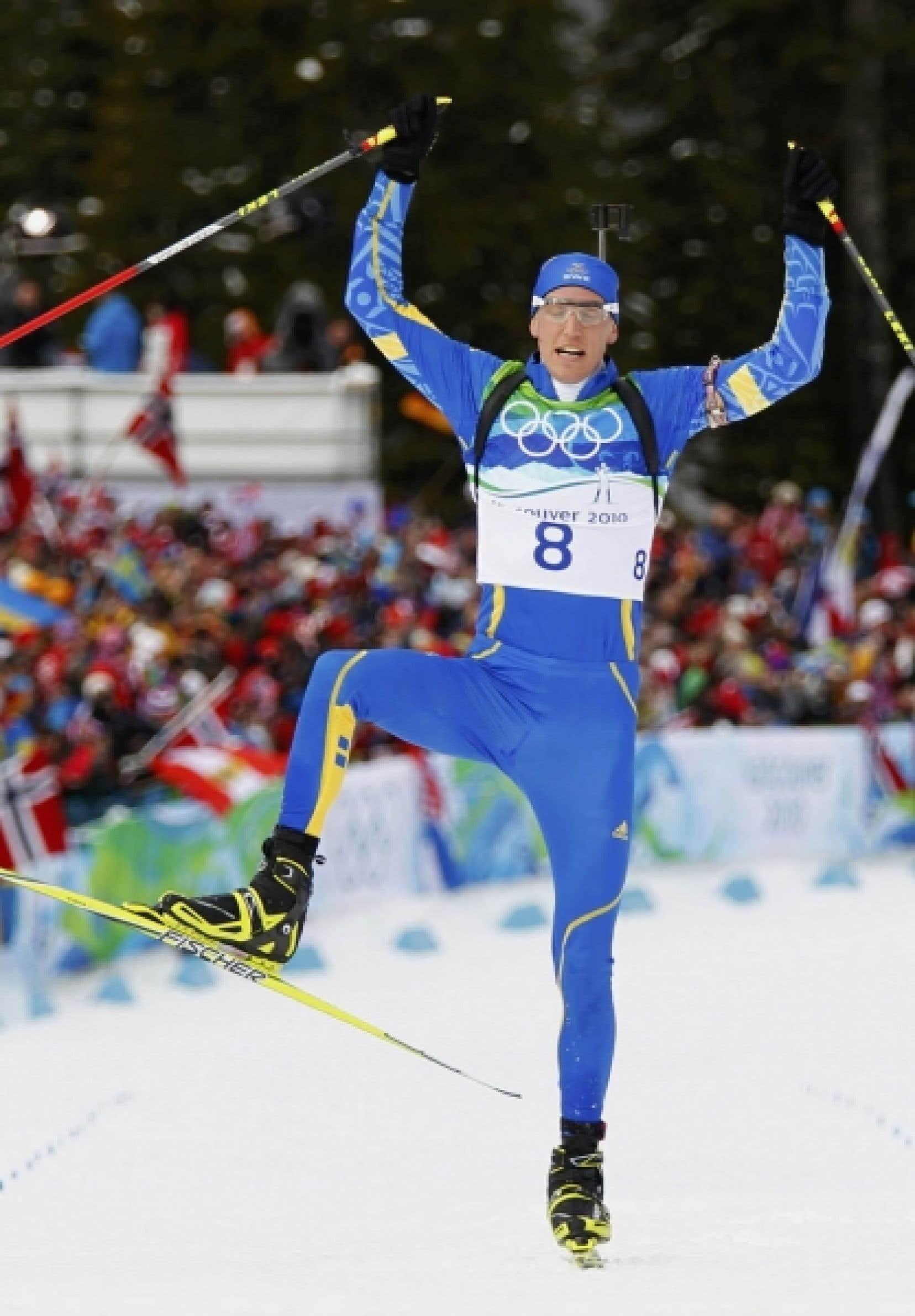 Avant ce sacre olympique, le seul fait de gloire de Björn Ferry était un titre de champion du monde en relais mixte.