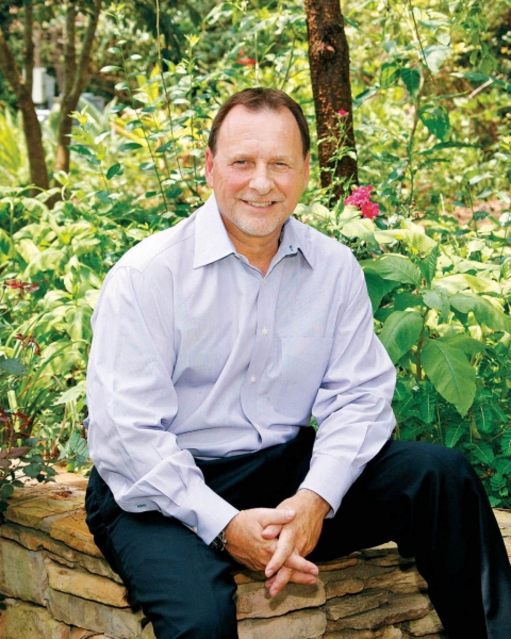 Claude Ouimet, vice-président principal et directeur général d'Interface Flor pour le Canada et l'Amérique Latine