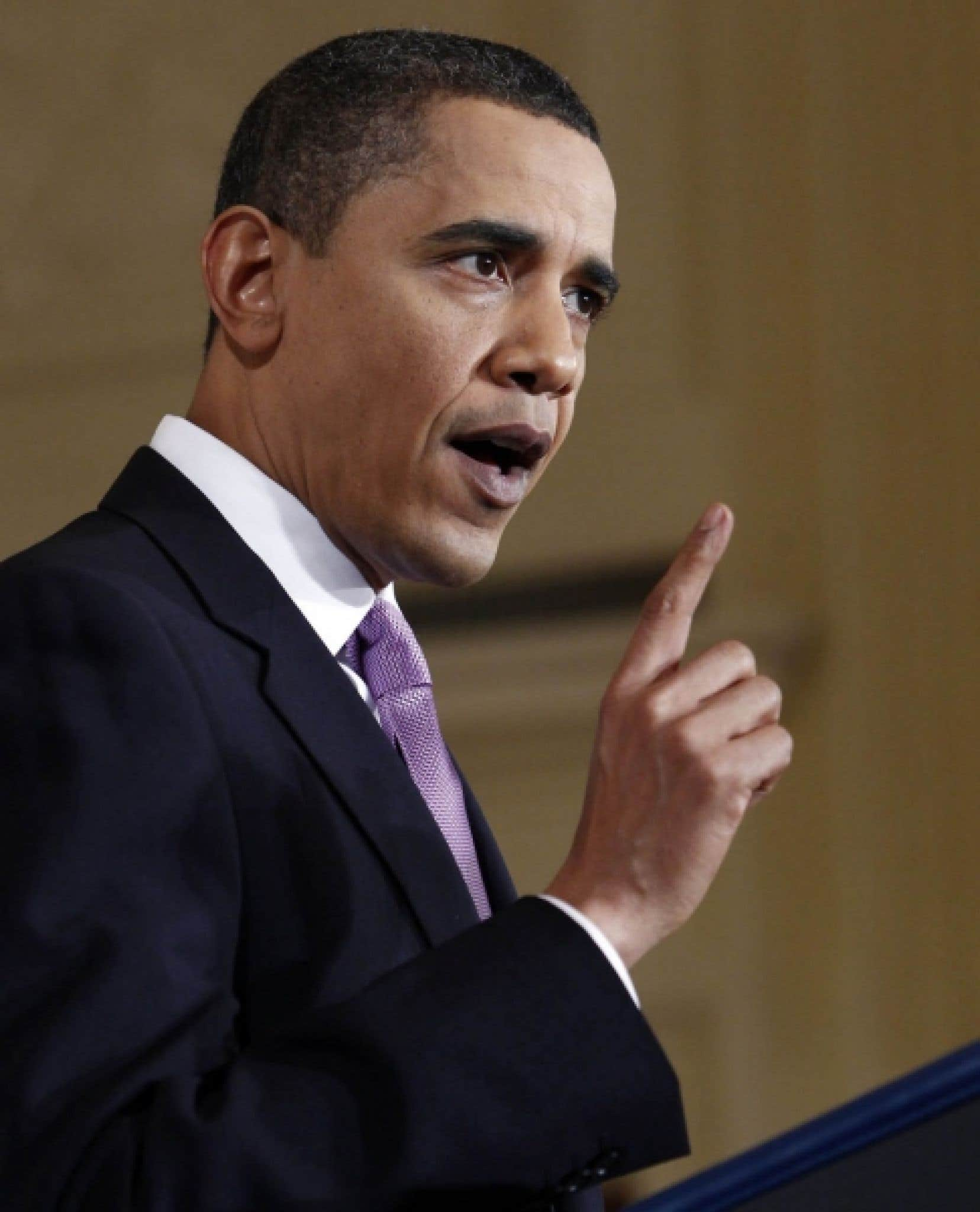«Je ne vois pas comment une autre année de négociations aiderait», a déclaré le président américain.