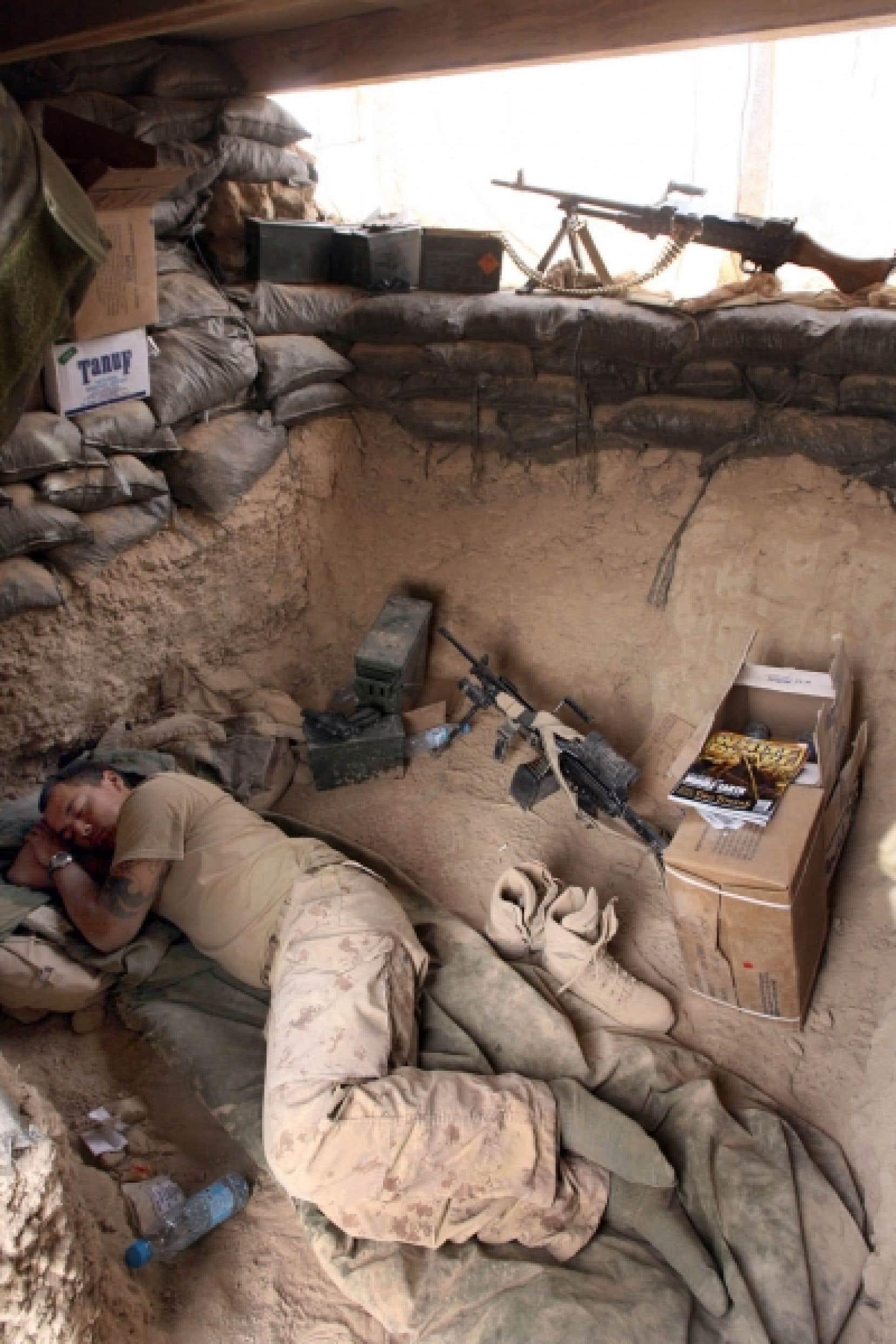 Plus de 1600 militaires canadiens sont touchés par des troubles psychologiques.