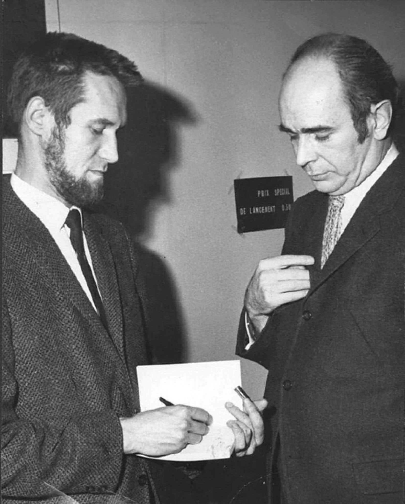 Serge Mongeau dans les années 1970
