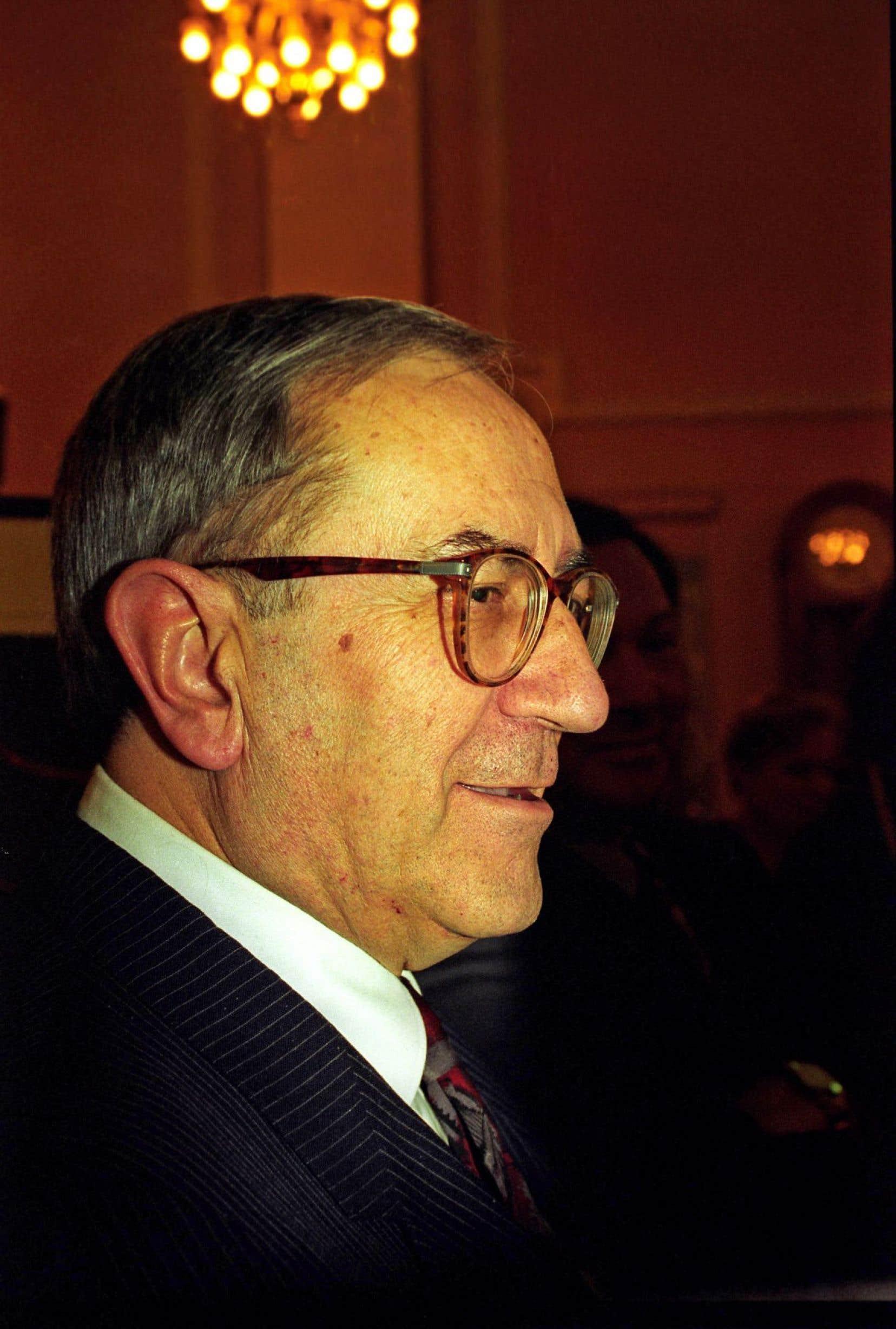 Gaston Miron en janvier 1994