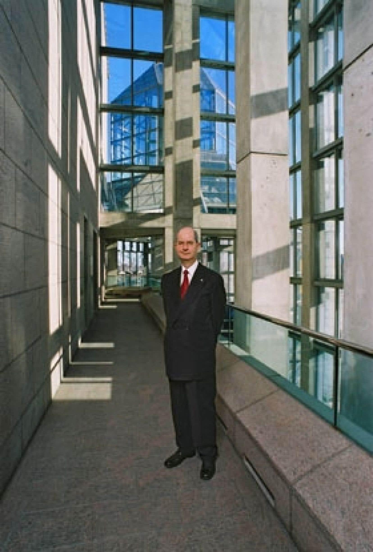Pierre Théberge n'a cessé de relever les défis qui se sont présentés tout au long de sa carrière. Photo: MBAC
