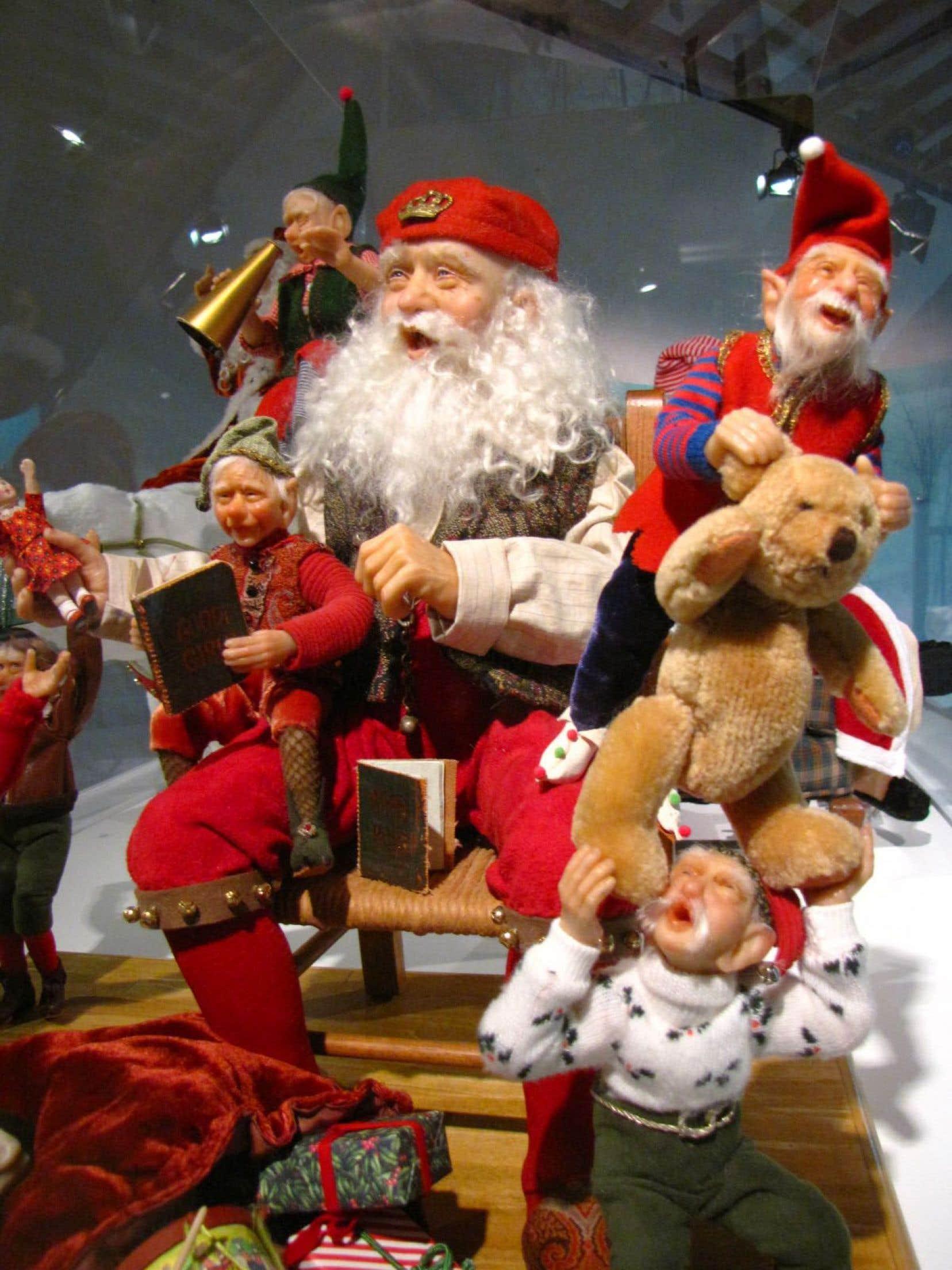 L'ensemble de figurines nommé N'ai-je rien oublié? a été créé en 2004 par les artistes américains Pat et Glen East.