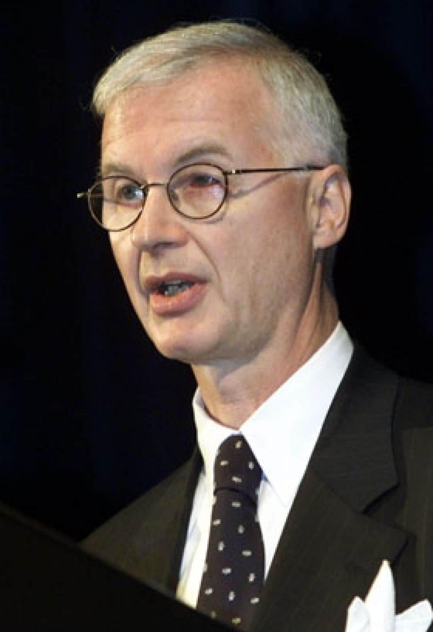 Le diplomate canadien Robert Fowler
