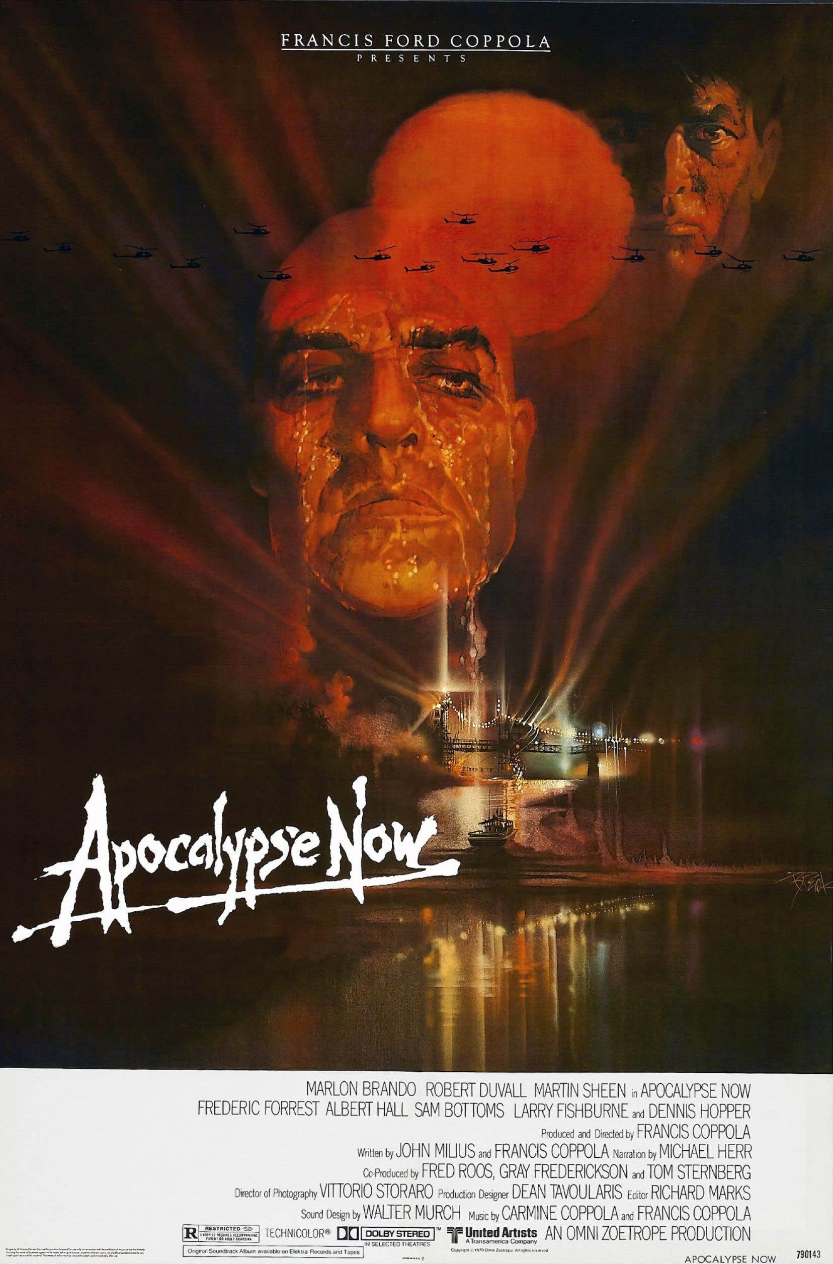 L'affiche originale du film «Apocalypse Now», sorti en 1979