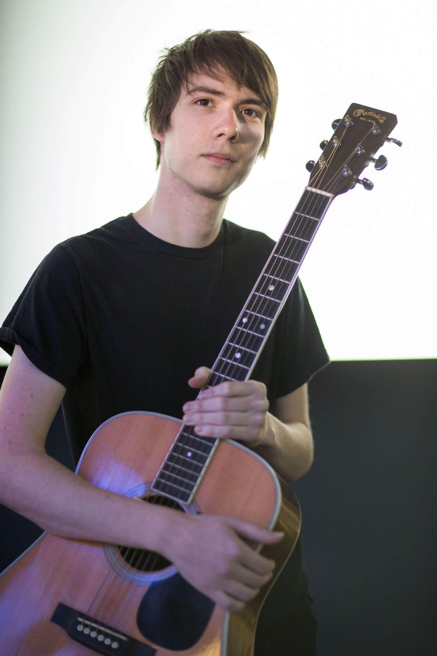Ludovic Alarie a appris la guitare classique pendant huit ans, et pourtant «L'appartement» n'en porte pas vraiment de traces.