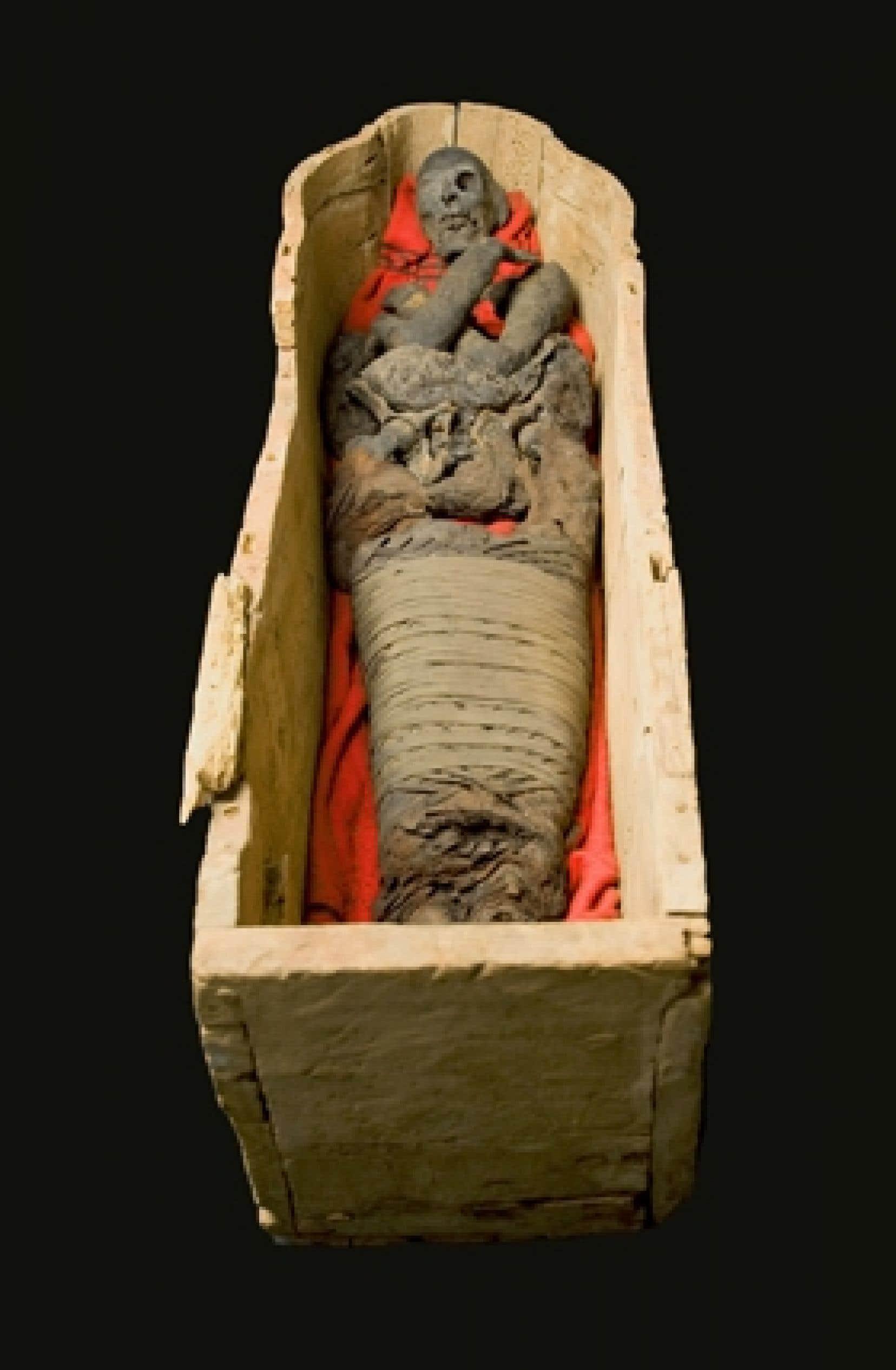 Momie de la dame Hudson, 1069-945 av. J-C.
