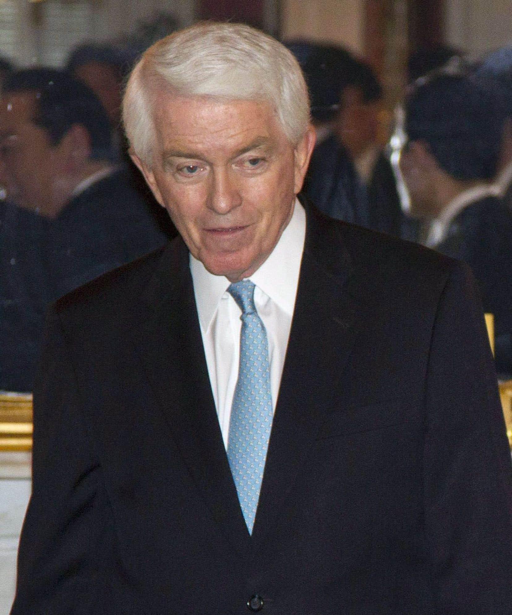 Le patron de la Chambre de commerce des États-Unis, Tom Donahue