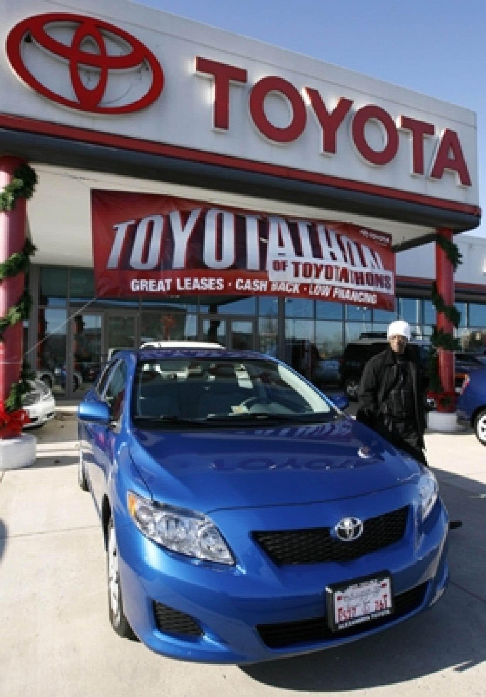 En raison de la crise du marché automobile, les ventes de Toyota s'élèveront à 7,5 millions de véhicules contre 8,9 millions en 2007-08.