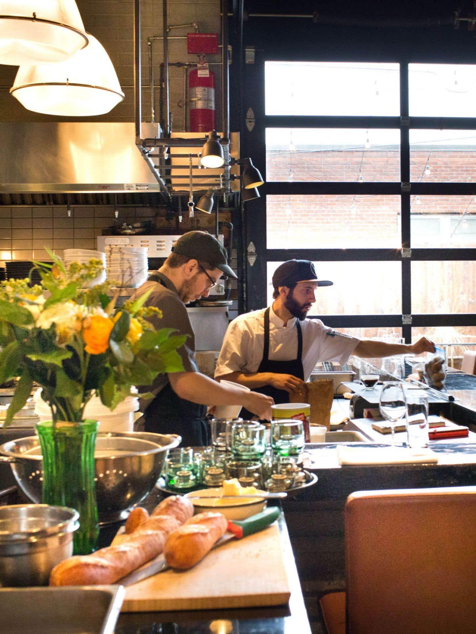 Dans un décor rustique, nordique, boisé, Manitoba propose un menu épuré: cinq entrées, cinq plats principaux, trois desserts.