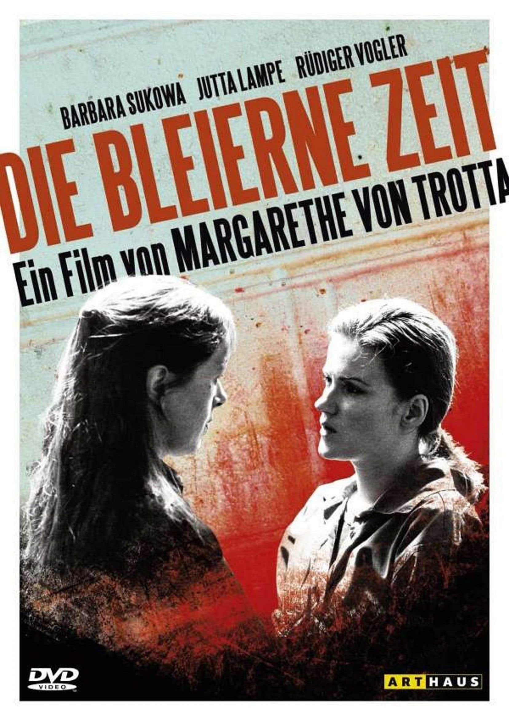 Jaquette du DVD allemand du film «Les années de plomb»