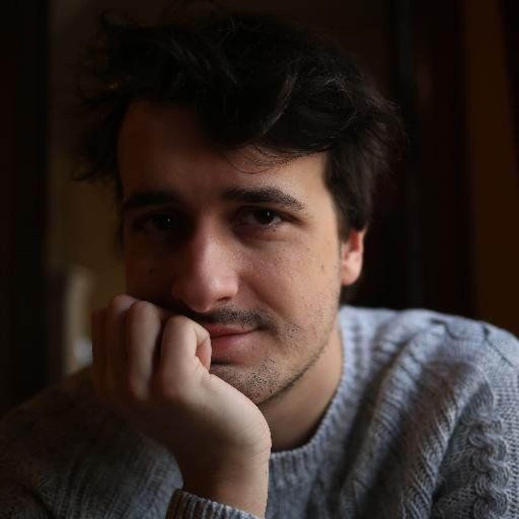 Un journaliste indépendant français Loup Bureau