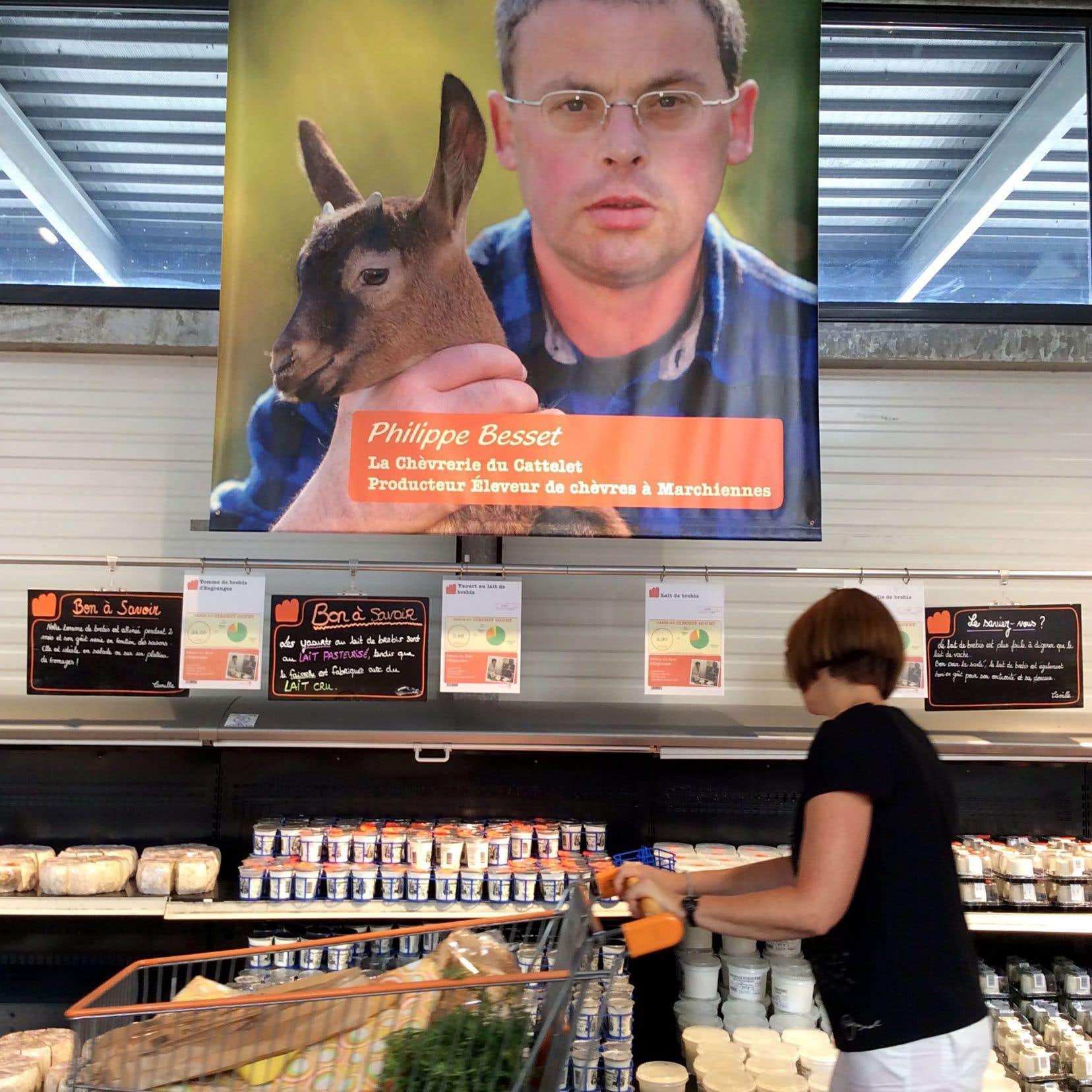 La question de savoir d'où proviennent les aliments est devenue une préoccupation importante. L'idée du «circuit court» est de fournir le plus d'informations possible aux consommateurs.