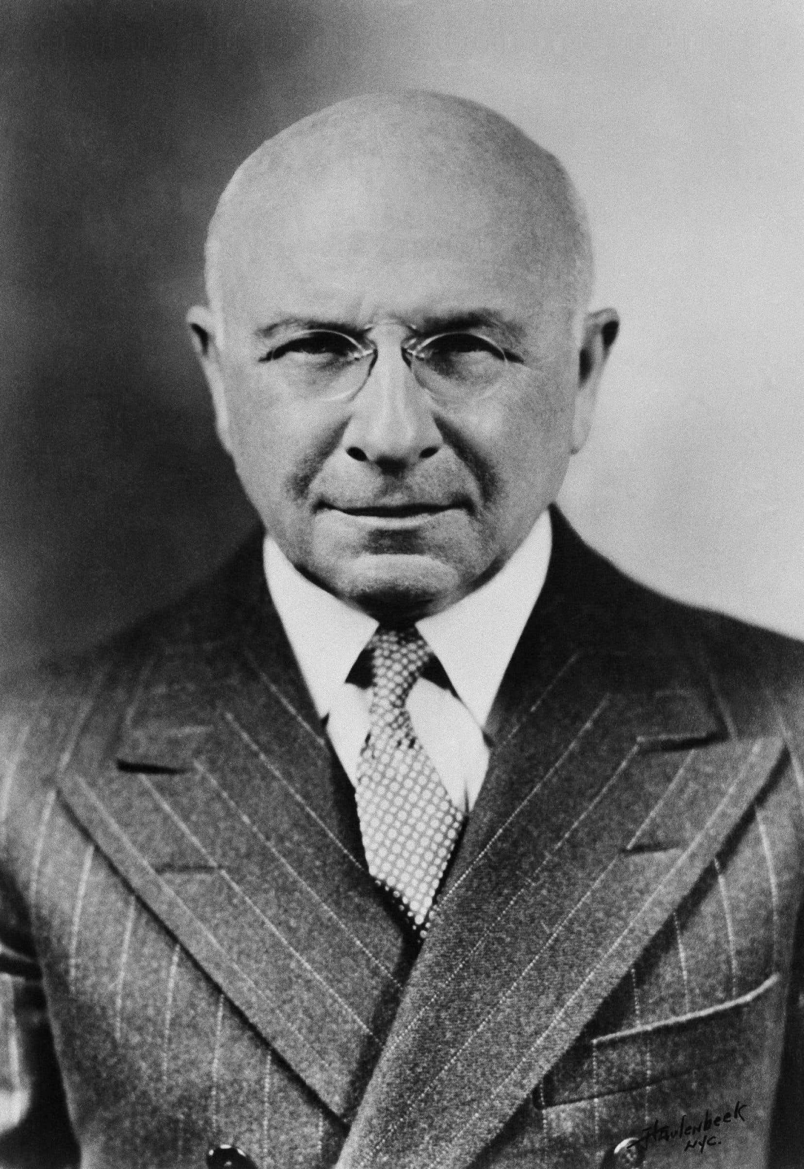 Le Dr Alexis Carrel en juillet 1940