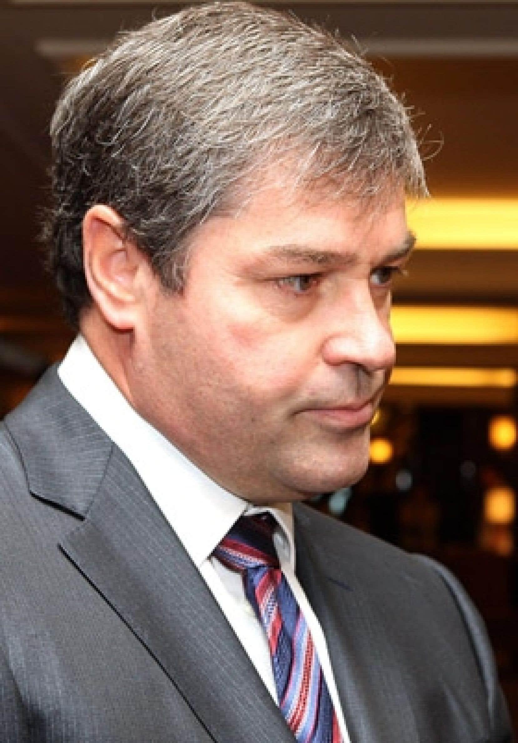 Yves Bolduc, le ministre québécois de la Santé et des services sociaux
