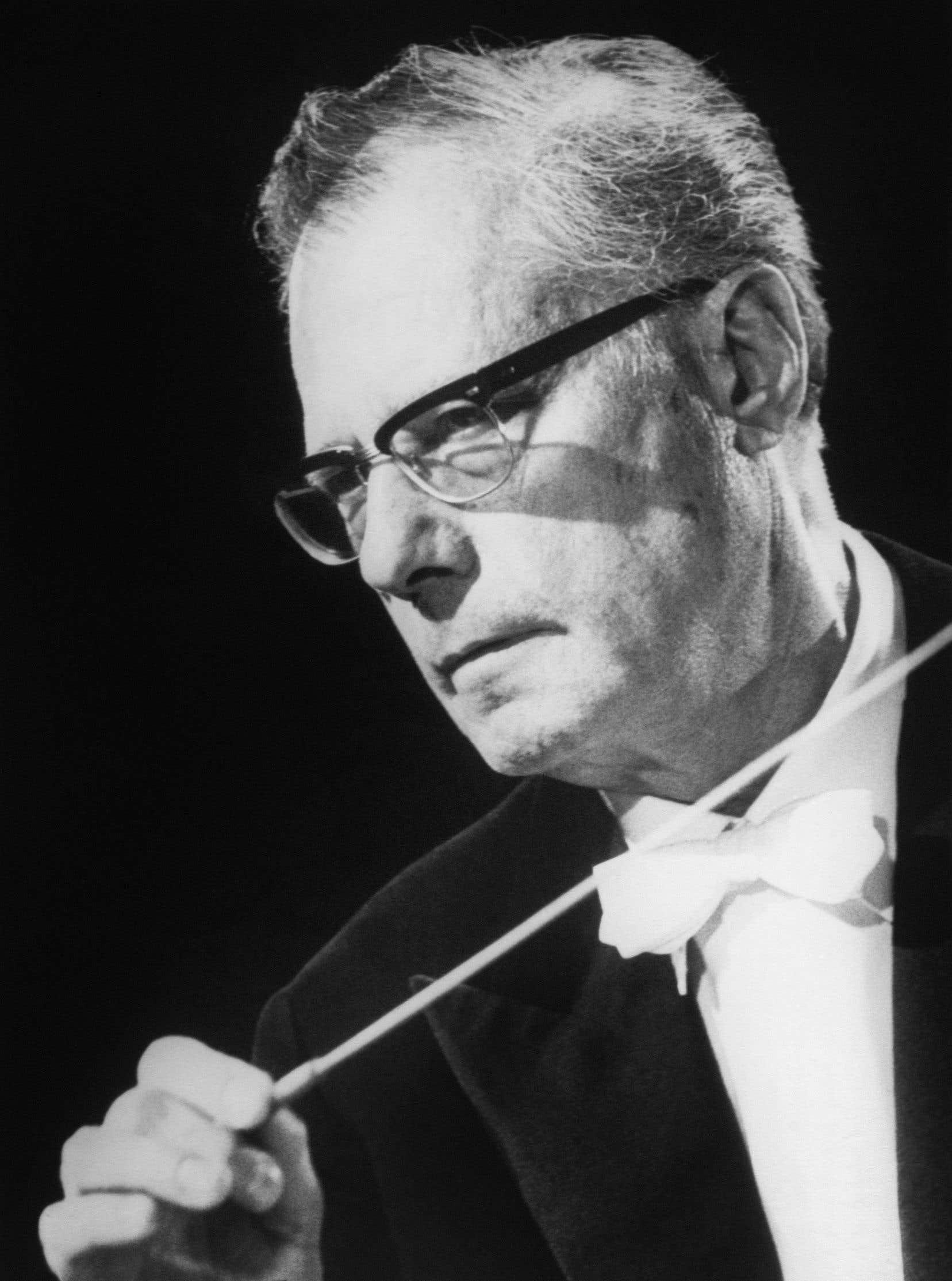 Le chef autrichien Karl Böhm en juillet 1970
