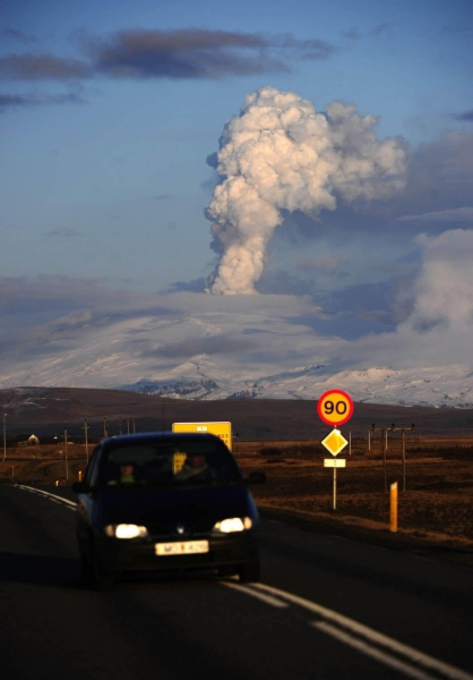 Le nombre de vols annulés à cause du nuage de cendres islandais a été plus important que dans les trois jours qui ont suivi le 11 septembre 2001.