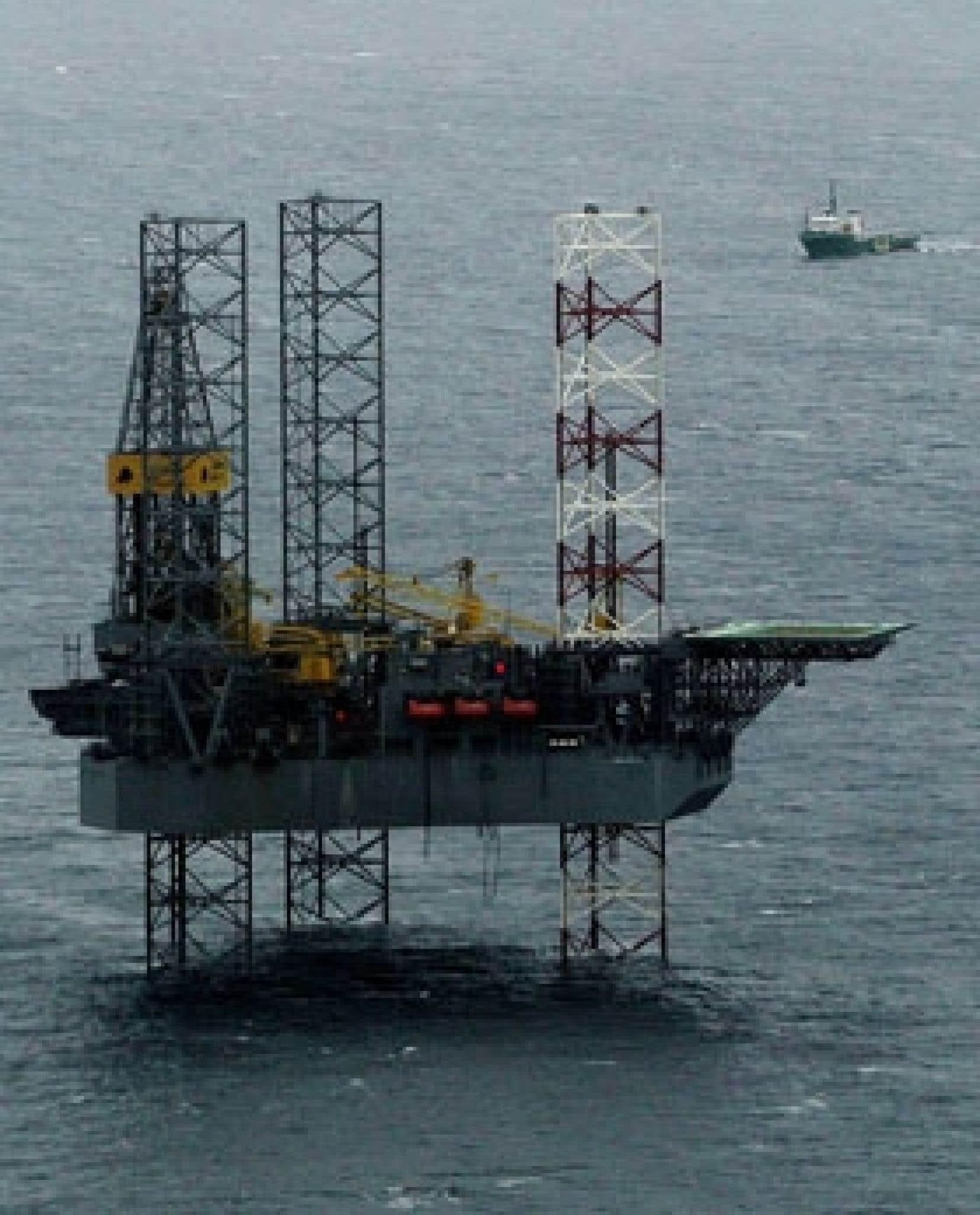 Une bonne partie du pétrole provenant des puits conventionnels de l'Atlantique est actuellement exportée vers les États-Unis.