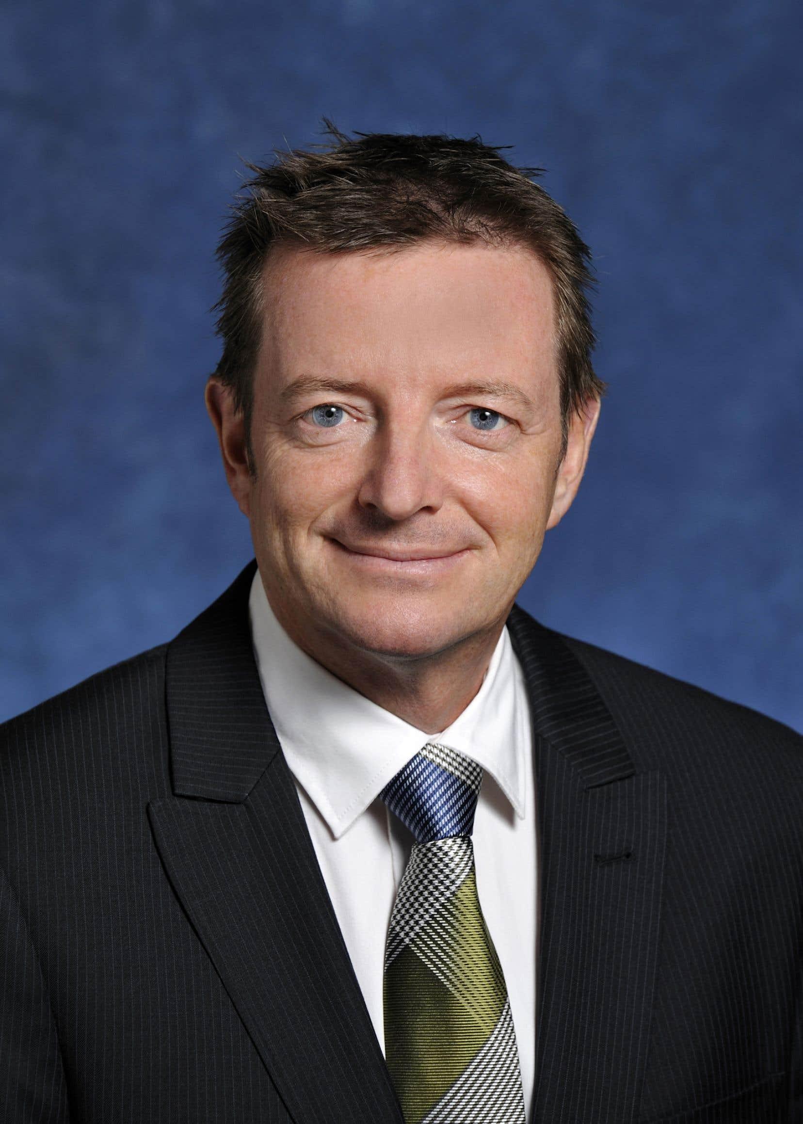 L'actuel sous-ministre des Finances, Luc Monty