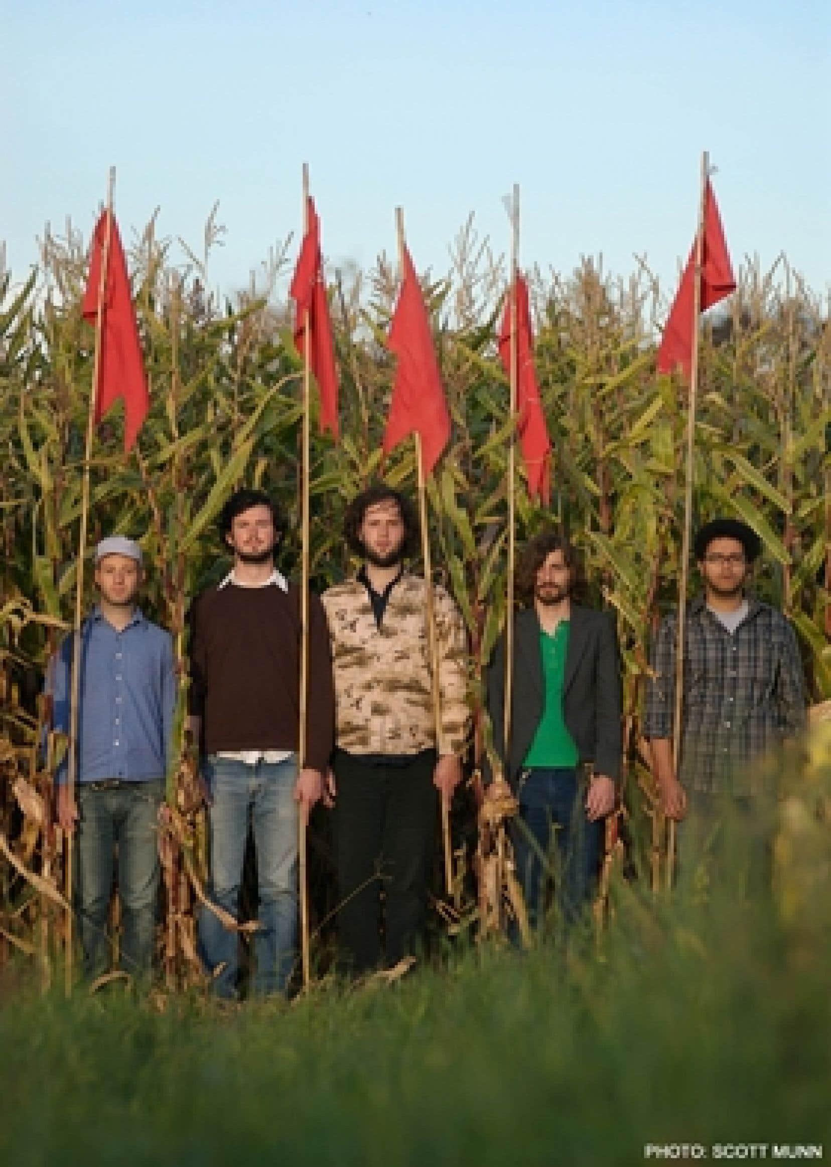 Le band de rock indie à tendance grunge Wintersleep. Après avoir lancé à l'utomne 2007 Welcome to the Night Sky, qui délaisse les vieilles habitudes grunge pour emprunter davantage aux sonorités folk, le quintette néo-écossais a connu une gross