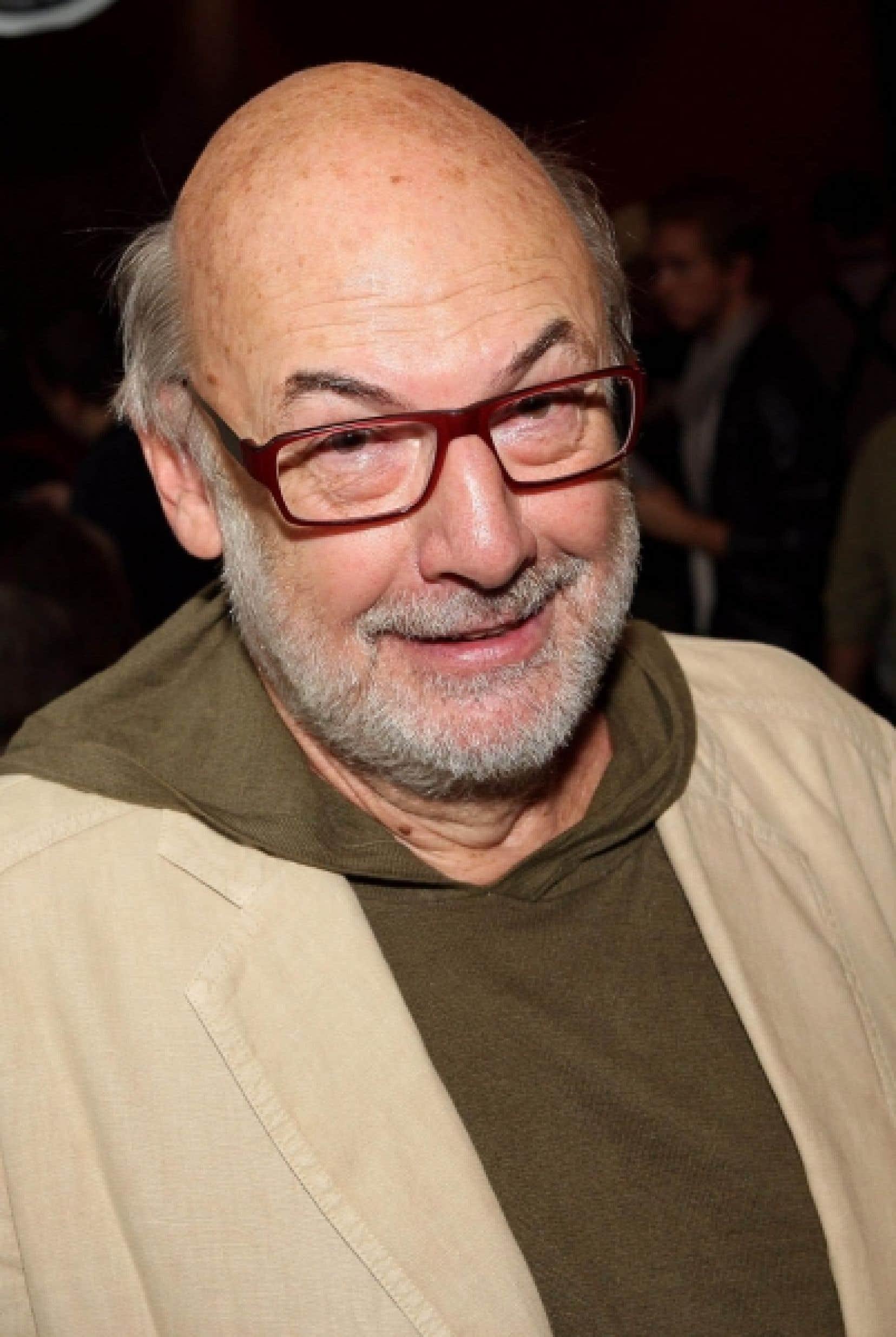 René Homier-Roy, animateur de l'émission C'est bien meilleur le matin