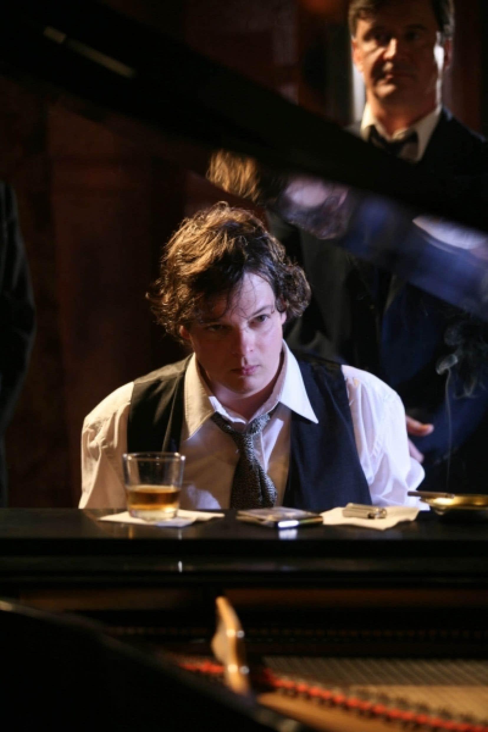 Patrick Drolet dans une scène du film réalisé par Luc Dionne, L'Enfant prodige, qui prenait l'affiche hier.